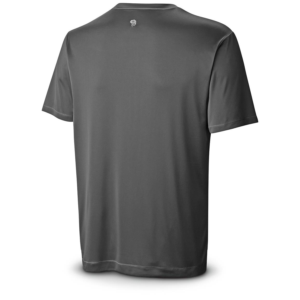 Mountain Hardwear Men's Wicked T-Shirt, Short Sleeved, Black Back