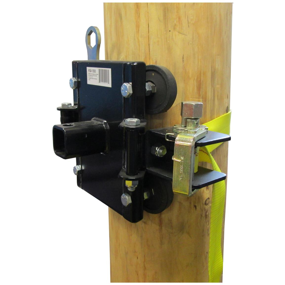Portable Winch Co. PCA-1263 Tree / Pole Mount with Anchor Strap