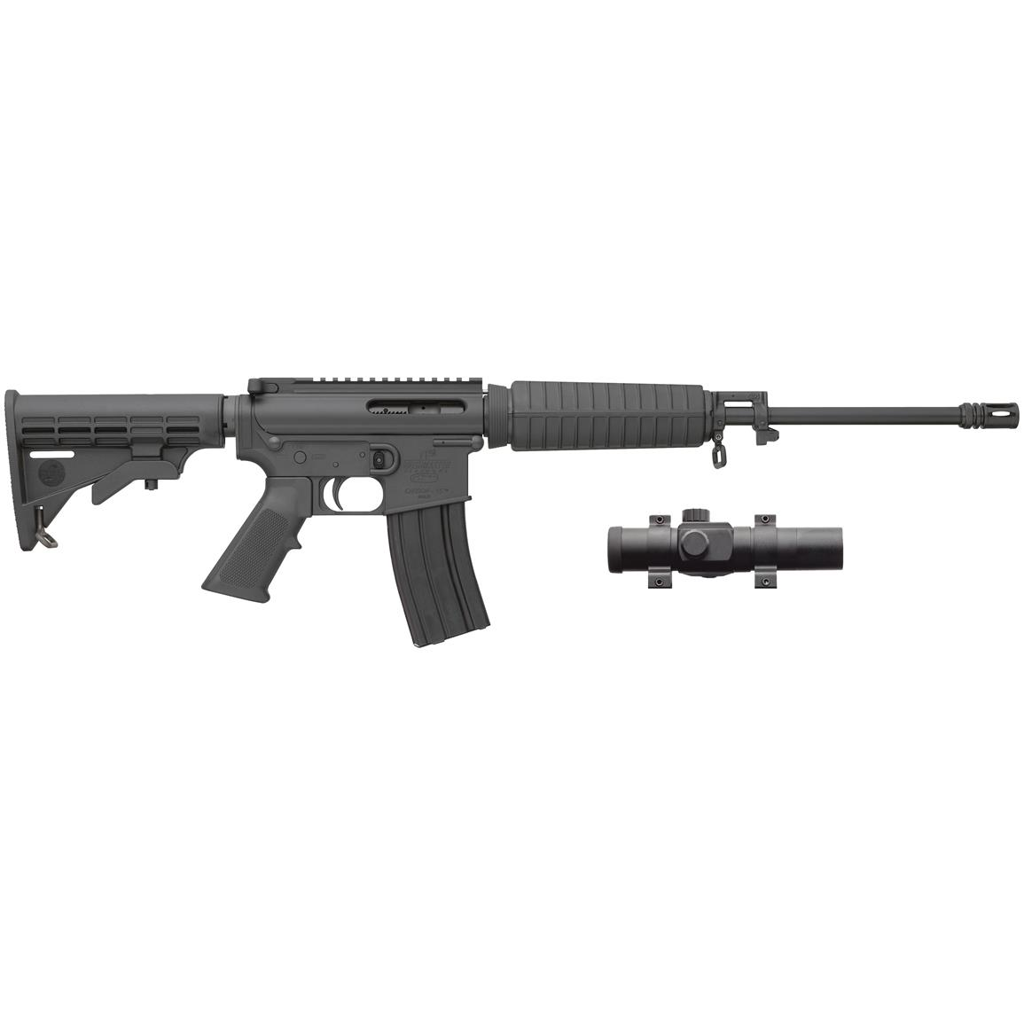 Bushmaster Carbon-15 Superlight ORC, Semi-Automatic, 5.56 NATO/.223 Rem., Red Dot Scope, 30+1 Rounds
