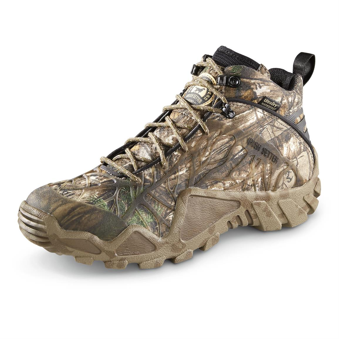 Irish Setter Men's Vaprtrek Waterproof Hiker Boots, Brown Realtree