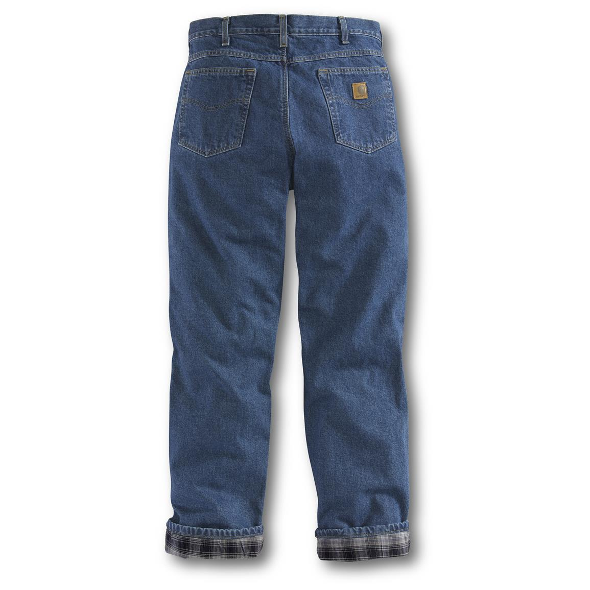 Durable 15-oz. 100% cotton denim stands up to rough working days