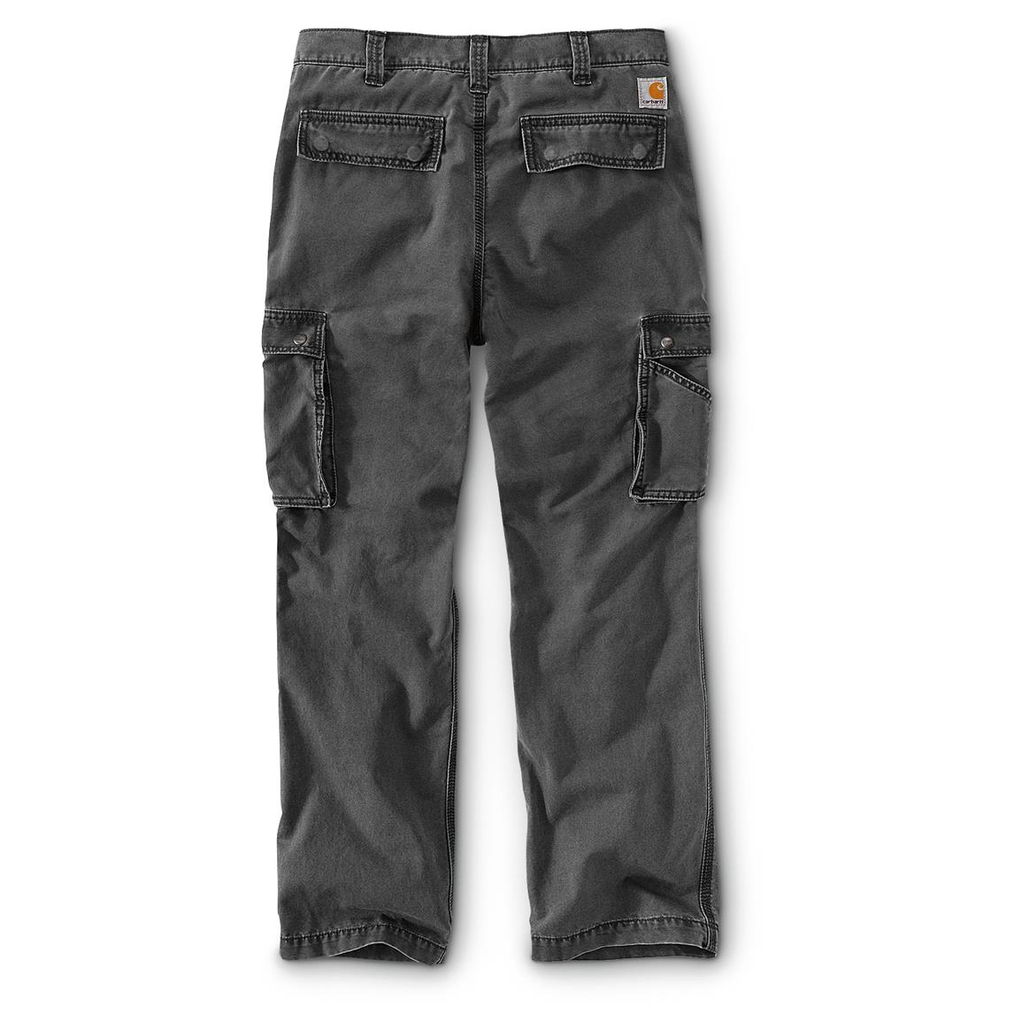 Carhartt Men's Rugged Cargo Pants, Gravel