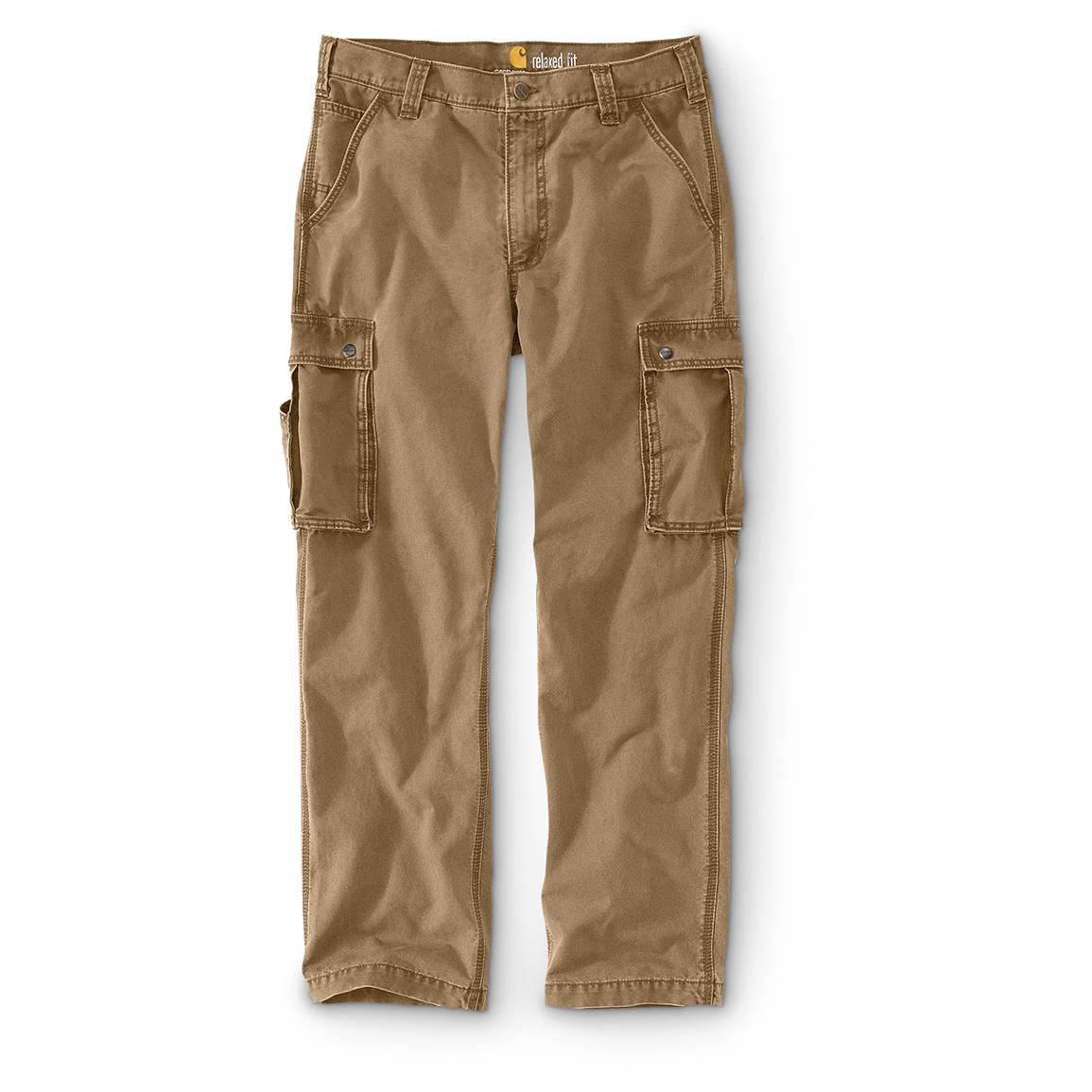 Carhartt Men's Rugged Cargo Pants, Dark Khaki