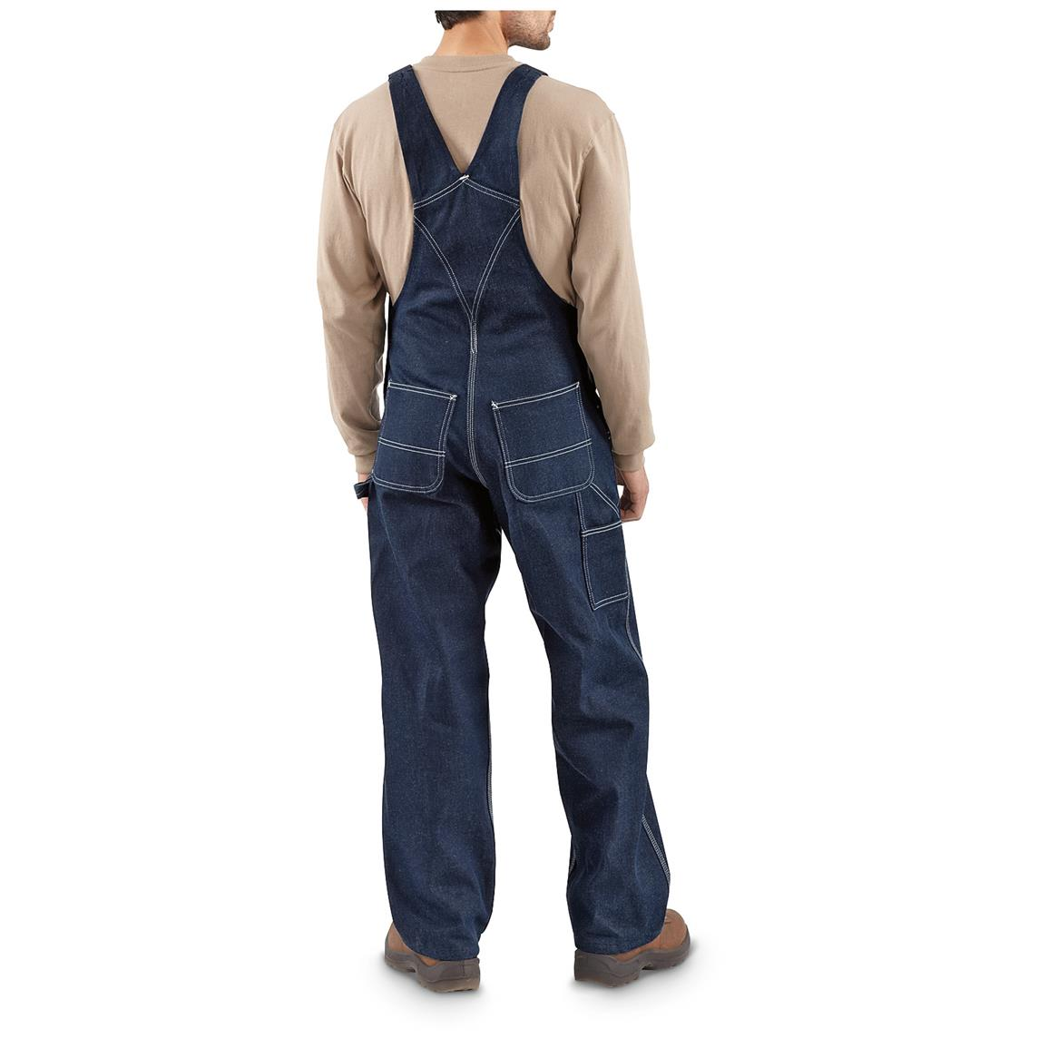 11.75-ounce, 100% cotton rigid denim for topnotch durability