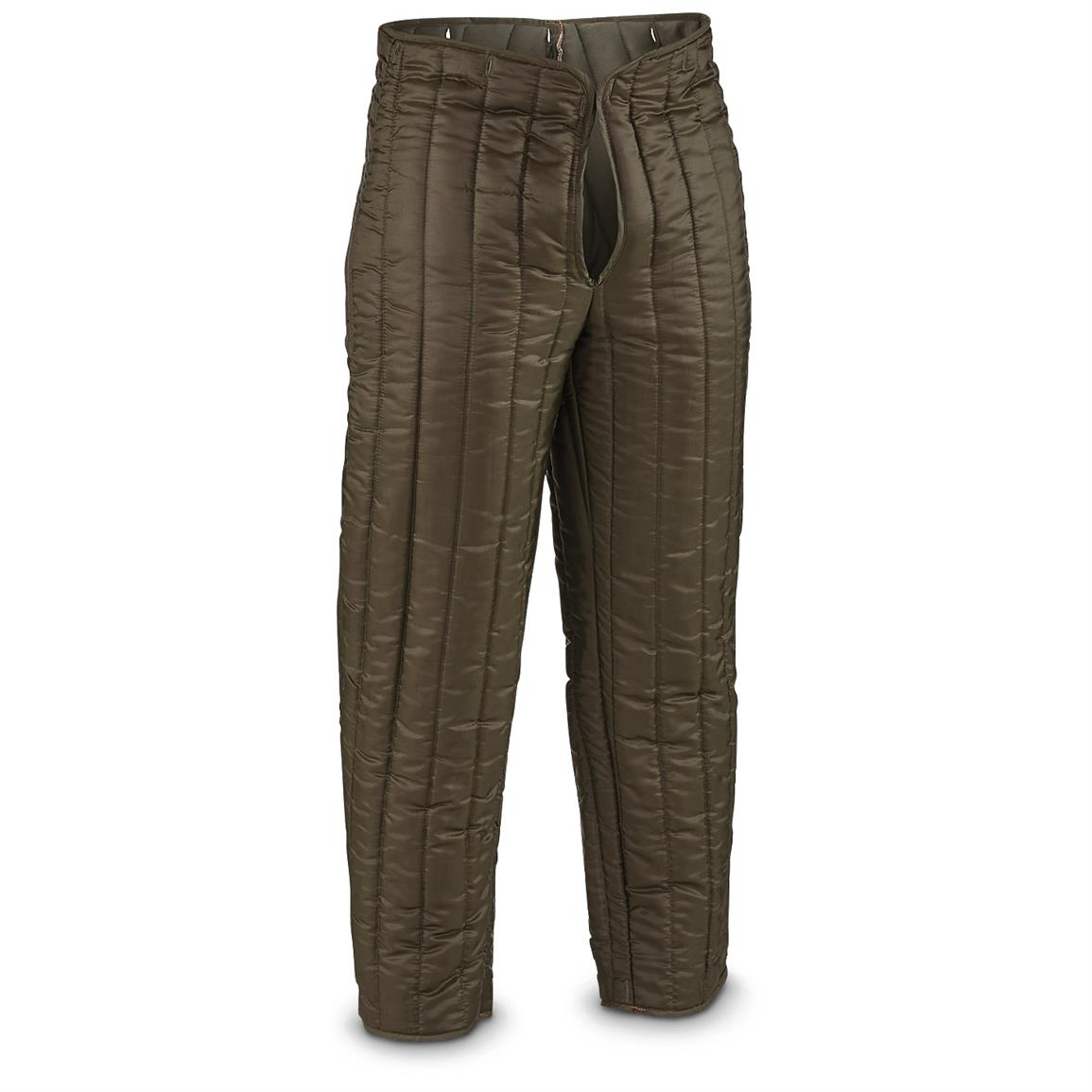 4 New Croation Military Surplus Pant Liners