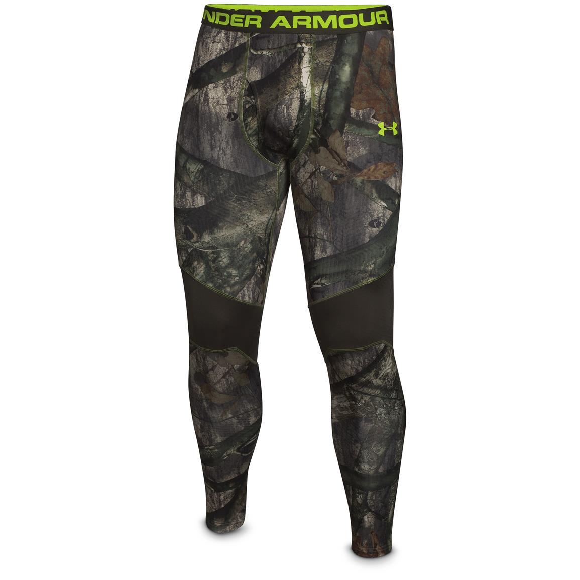 Under Armour ColdGear Infrared Scent Control Tevo Leggings, Mossy Oak Treestand