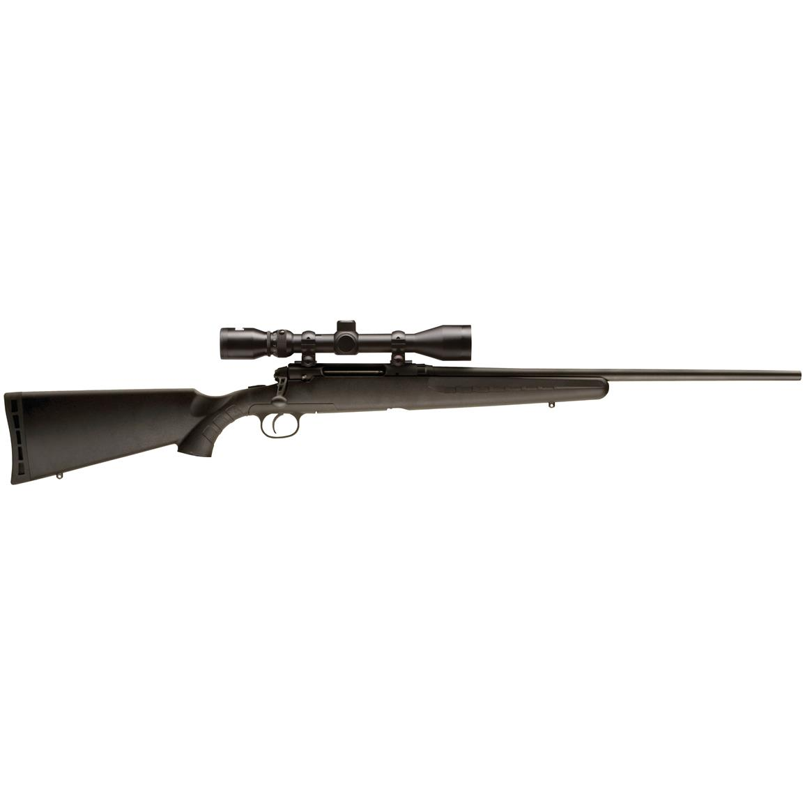 "Savage Axis XP, Bolt Action, .308 Winchester, 22"" Barrel, 3-9x40mm Scope, 3+1 Rounds"