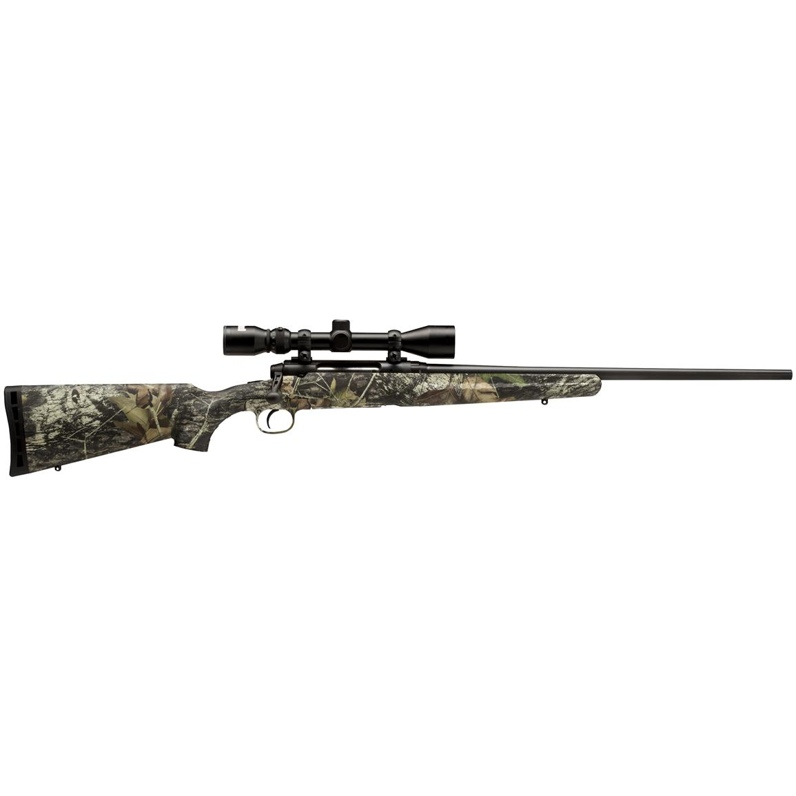"Savage Axis XP Camo Series, Bolt Action, .30-06 Springfield, 22"" Barrel, 3-9x40 Scope, 4+1 Rounds"
