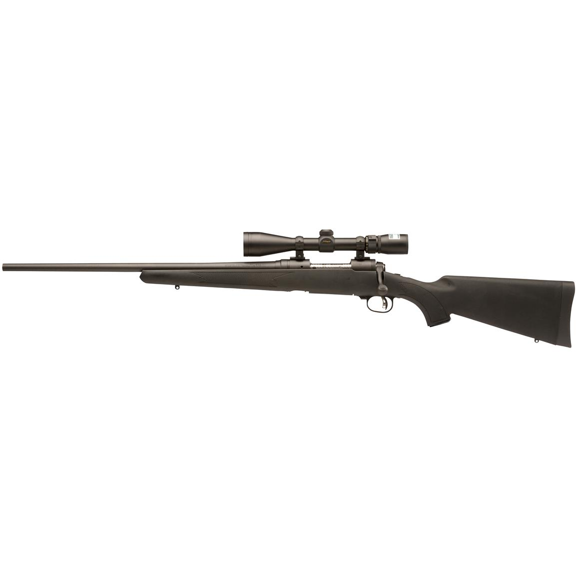 Left Handed, Savage 11 Trophy Hunter XP Package, Bolt Action, .204 Ruger, Centerfire, 19694, 011356196941, with Nikon BDC Scope