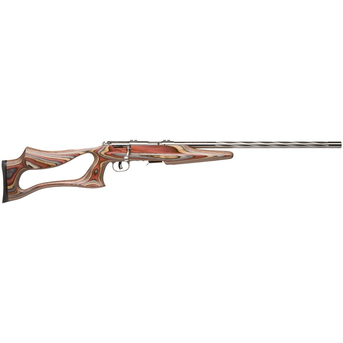 "Savage MKII BSEV, Bolt Action, .22LR, Rimfire, 21"" Heavy Stainless Steel Barrel, 5+1 Rounds"