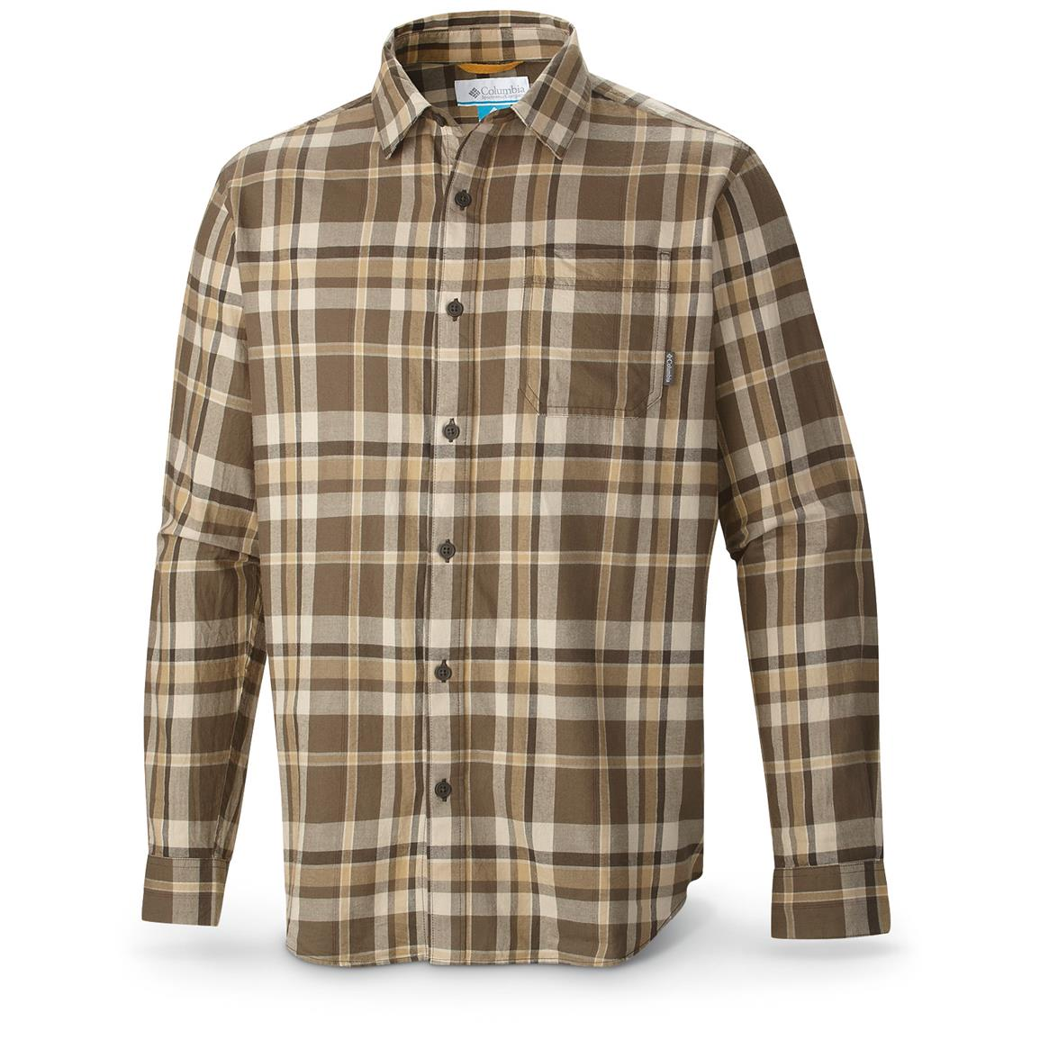 Columbia Vapor Ridge III Shirt, Long-sleeved, Fossil Twill