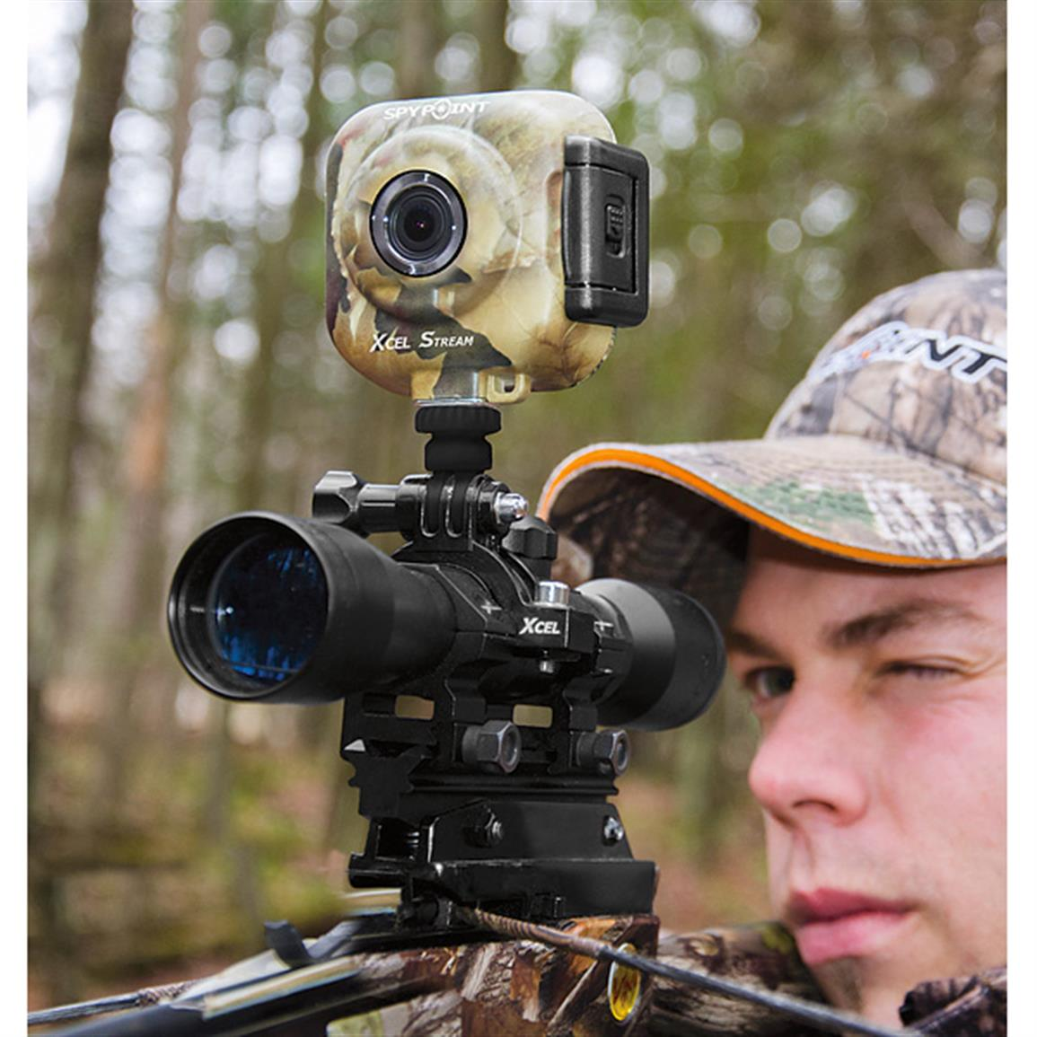 Hands-free recording of your hunt!