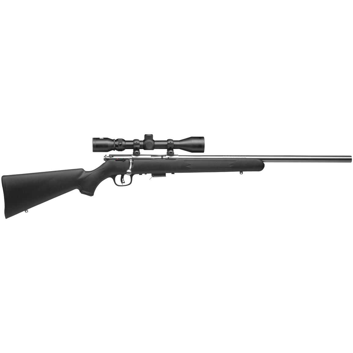 "Savage 93 FVSS XP, Bolt Action, .22 WMR, Rimfire, 21"" Barrel, 4x32mm Scope, 5+1 Rounds"