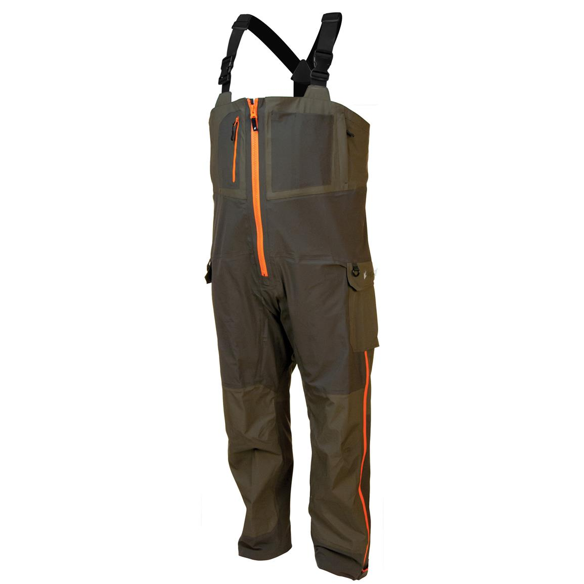 frogg toggs Pilot Guide Bibs, Stone / Taupe