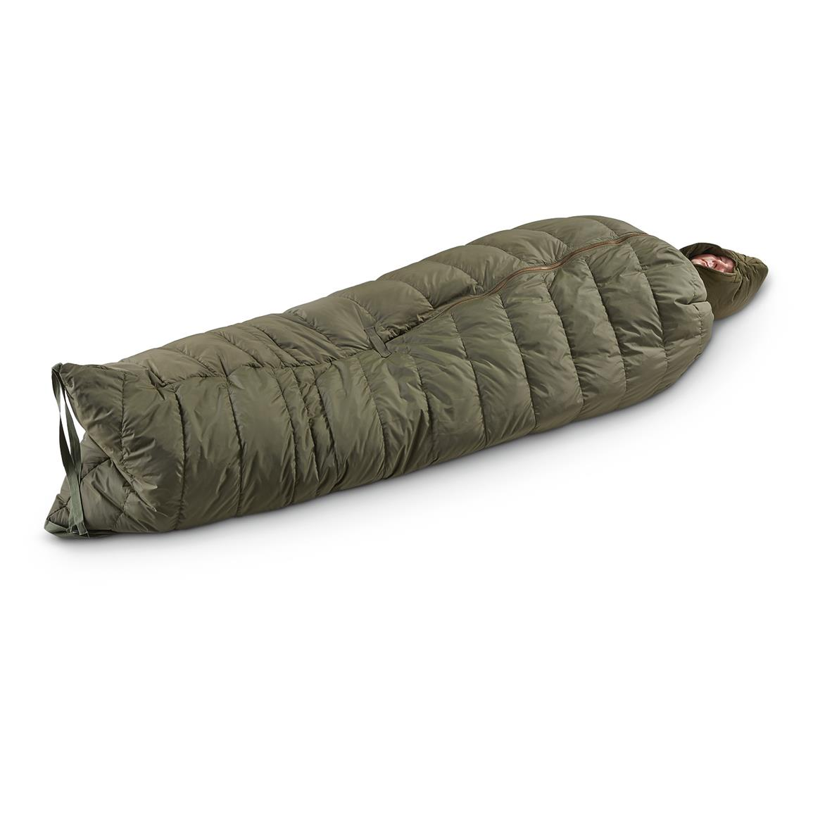 US Military Surplus ECW Sleeping Bag, Like New
