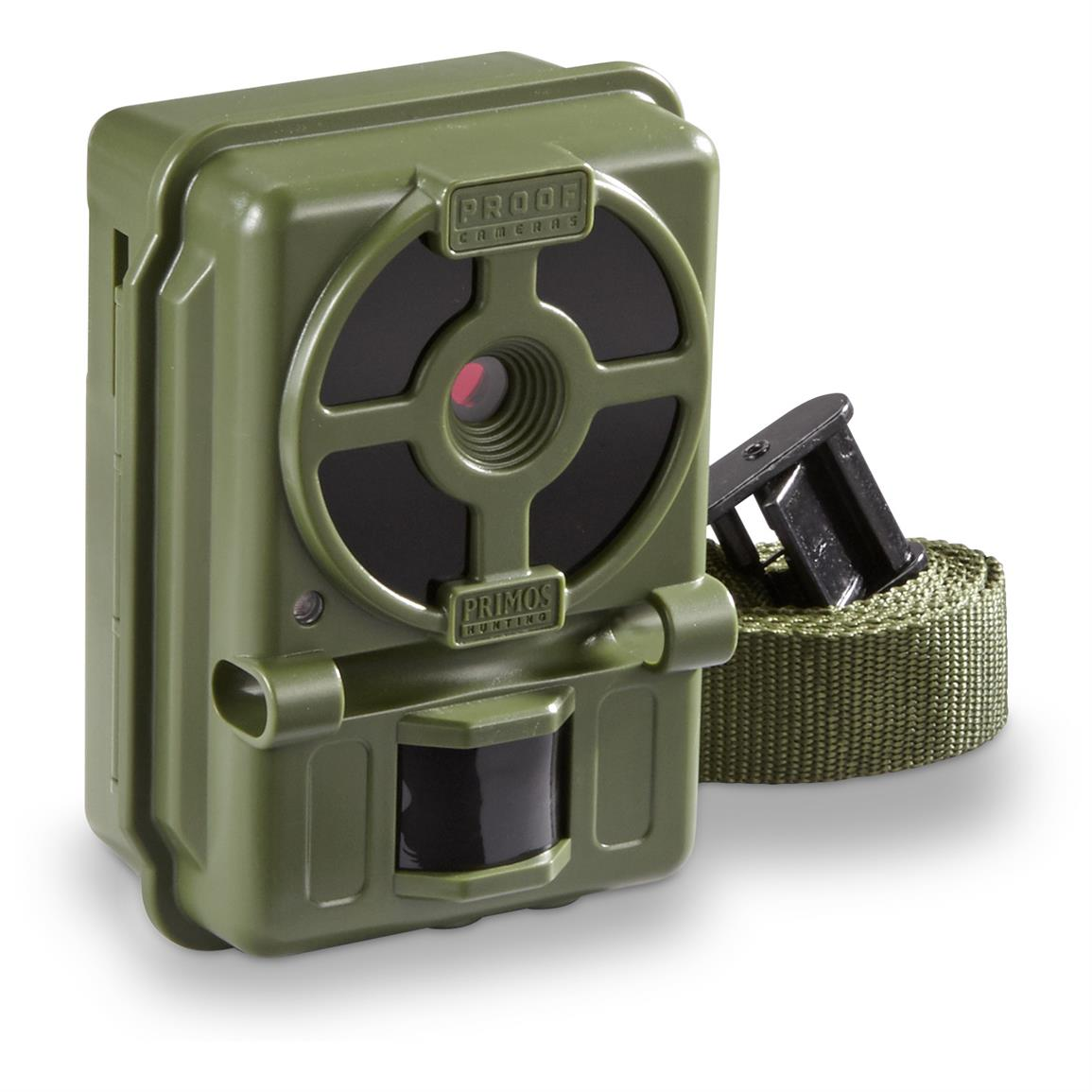 Primos Proof Cam 10MP Low Glow Trail Camera, Olive Drab Green