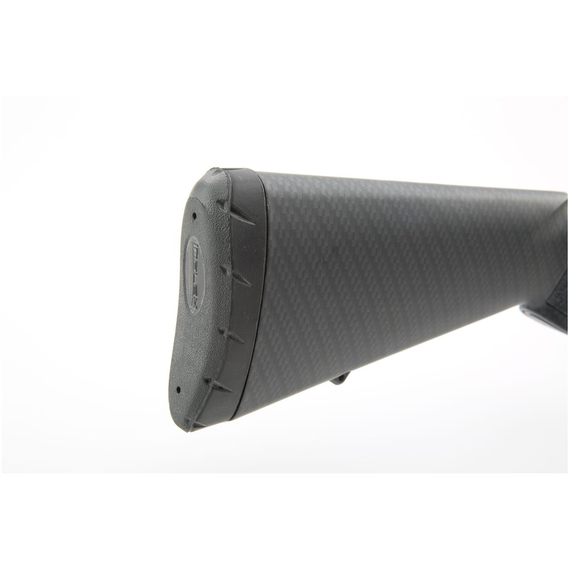 Textured gripping surface on stock and forend