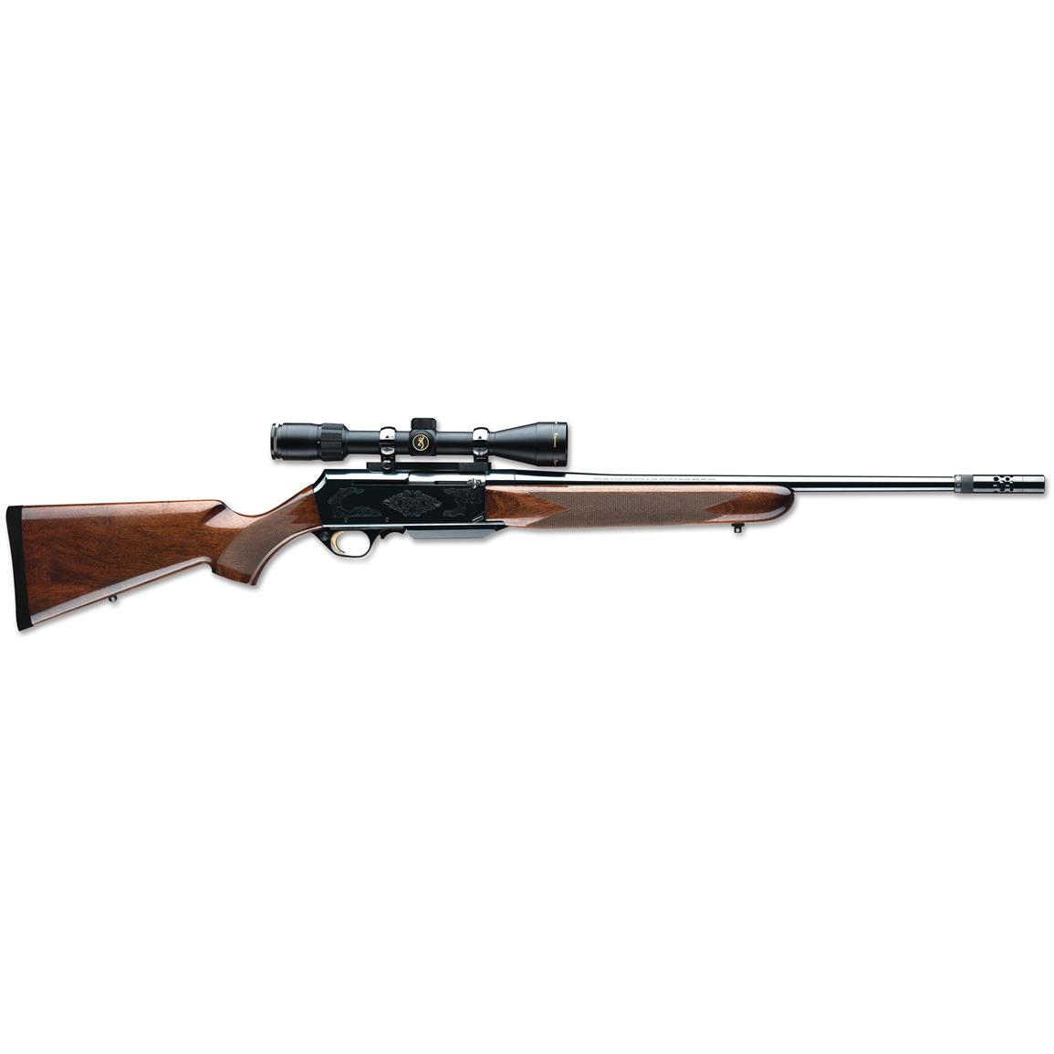 Browning BAR Mark II Safari, Semi-automatic, .338 Winchester Magnum, Centerfire, 031001331, 023614063175, 24 inch Barrel