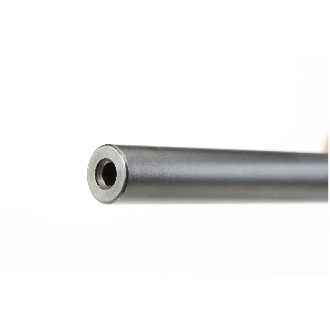 Button-rifled barrel is triple checked for quality and individually hand chambered and air gauged