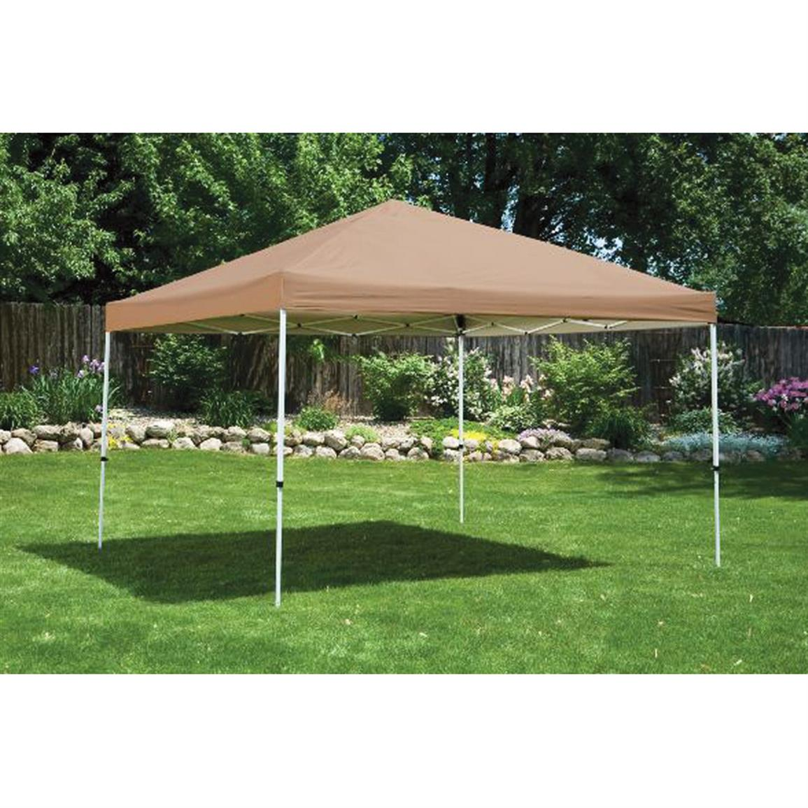 12x12 Foot Straight Leg Pop Up Canopy Click To Zoom