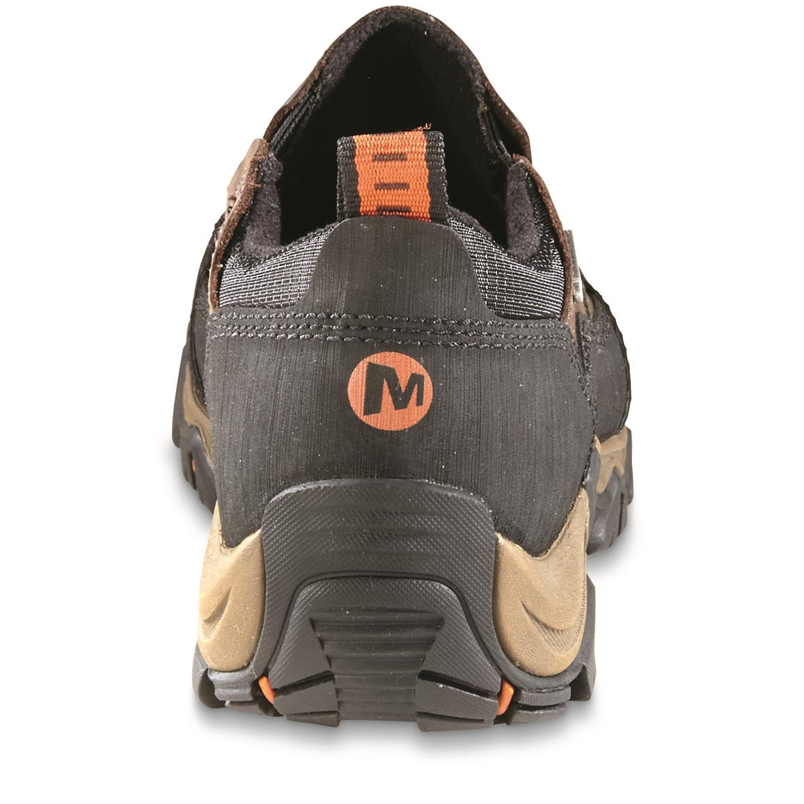 Merrell Polarand Rove Waterproof Moc Toe Slip-on Shoes, Back