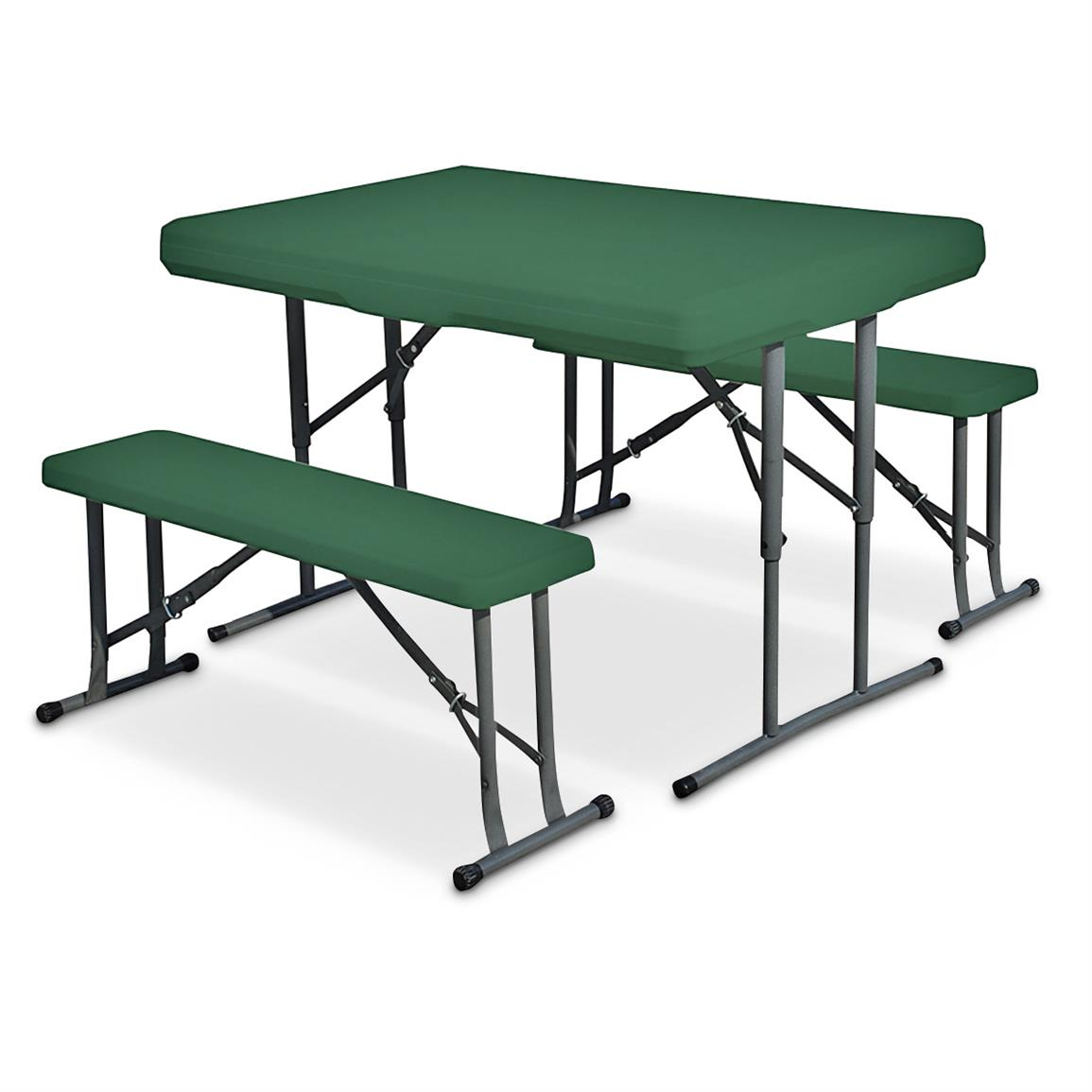 Stansport Folding Camp Table Amp Chairs 640303 Tables At