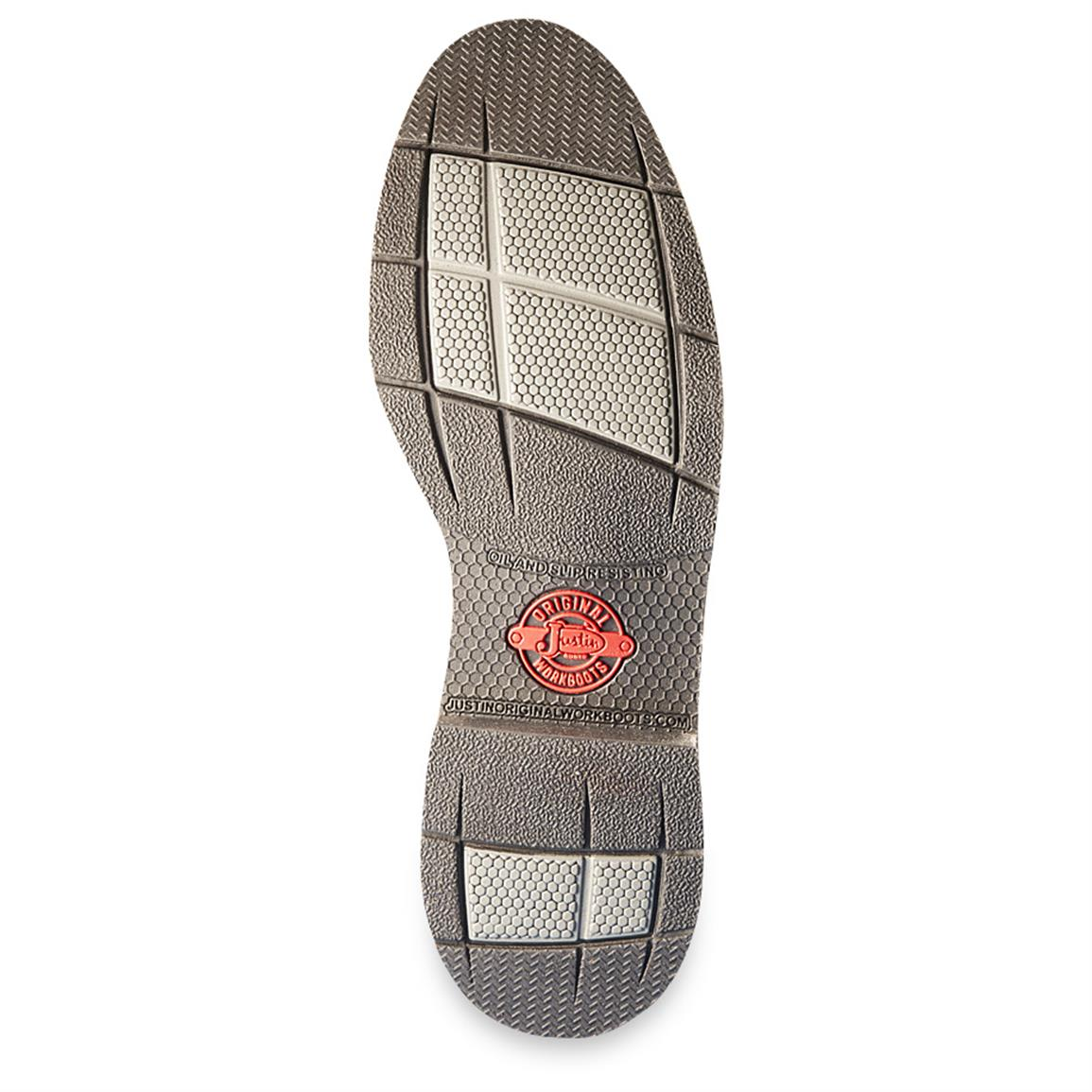 Oil and slip-resistant outsole