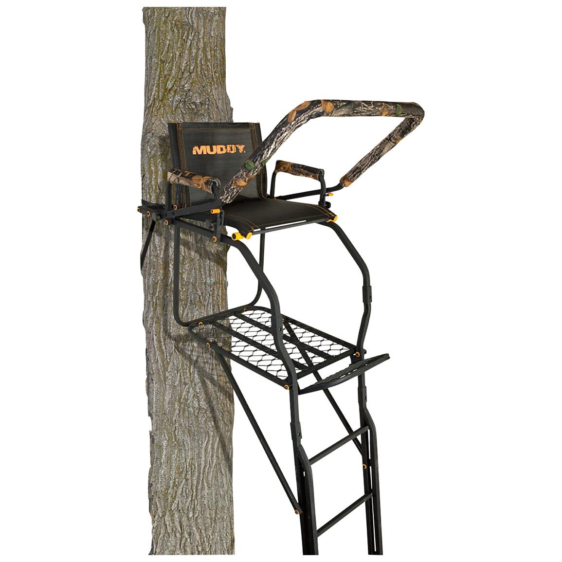 Muddy Skybox 20 foot Ladder Tree Stand