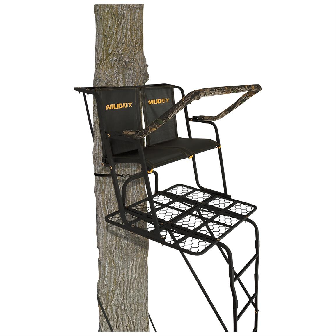 Muddy Partner 17 foot Ladder Tree Stand
