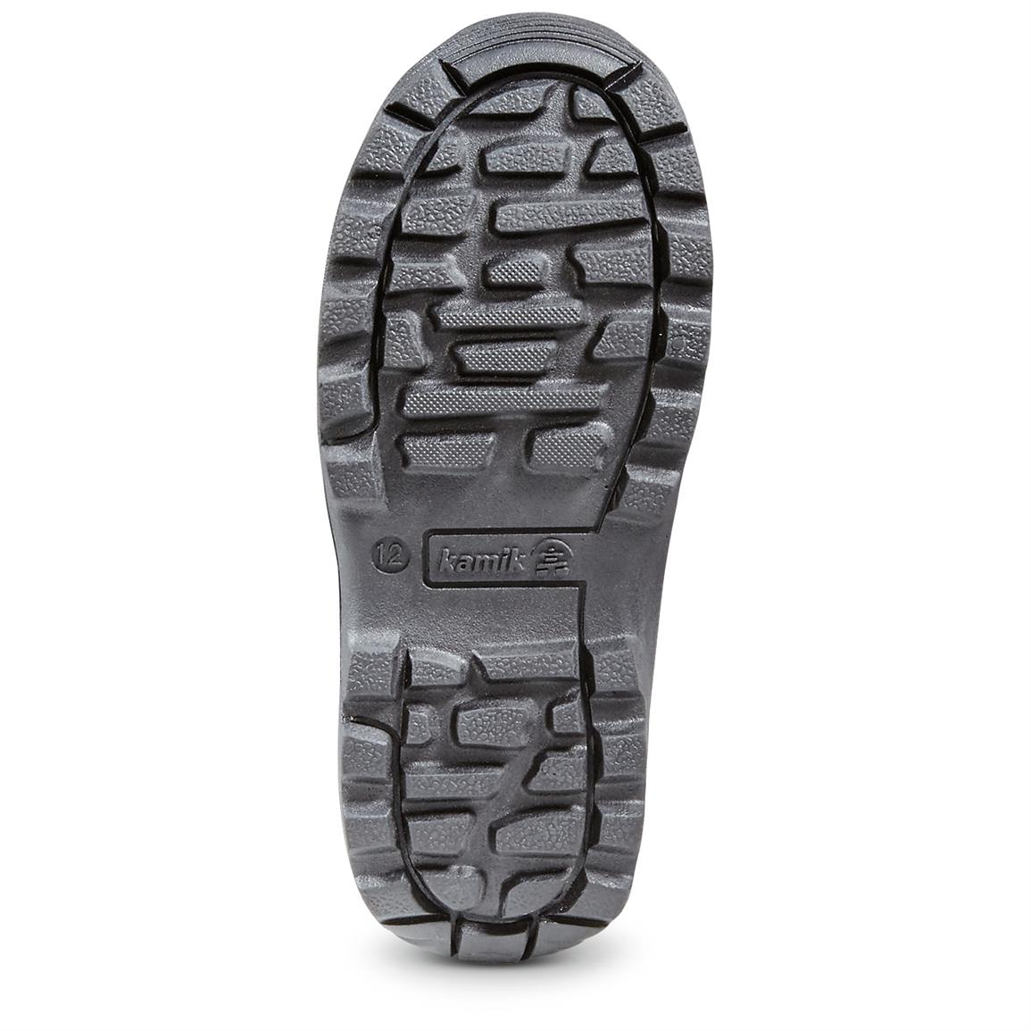 Rubber sure traction outsole