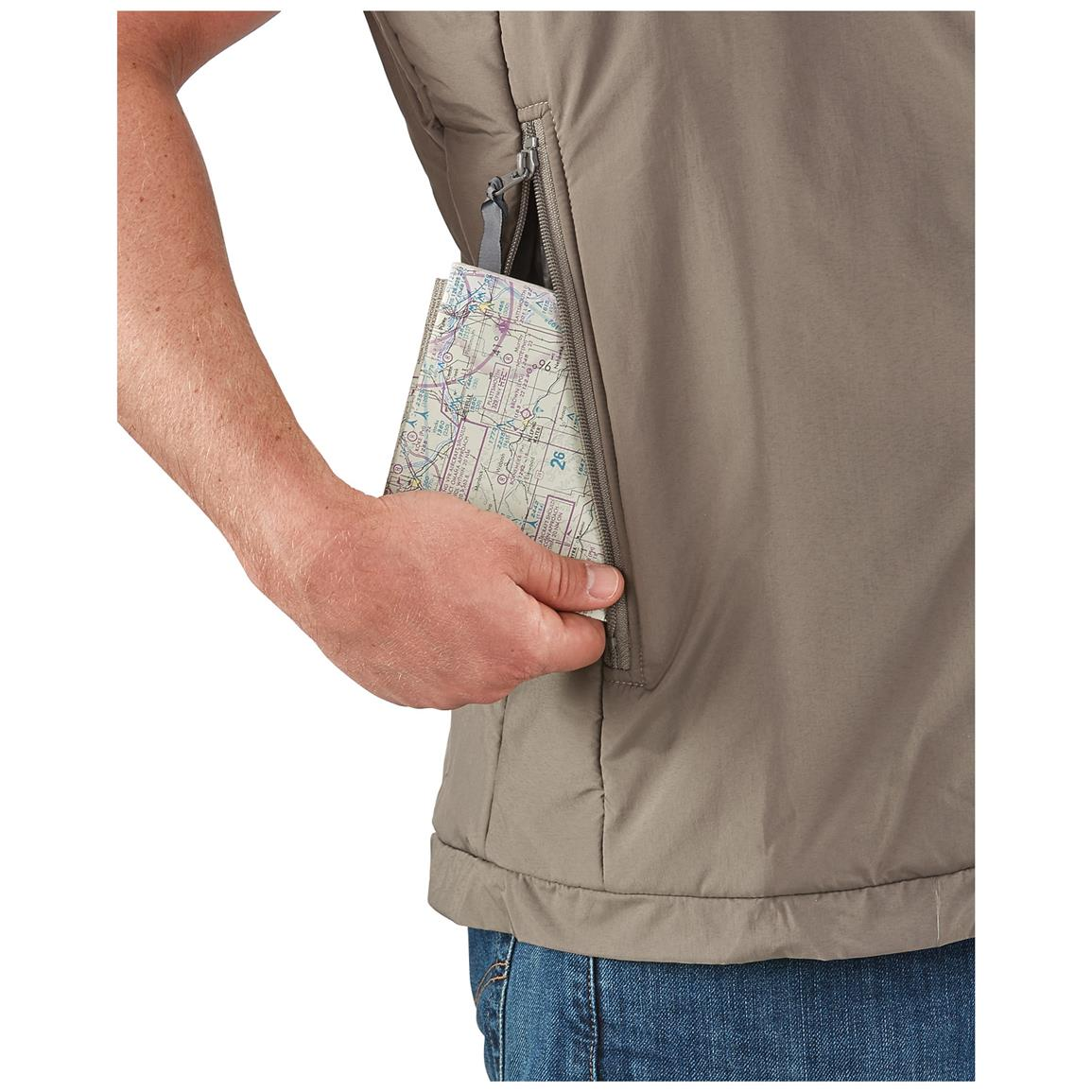 Large tactical pockets for maps and more