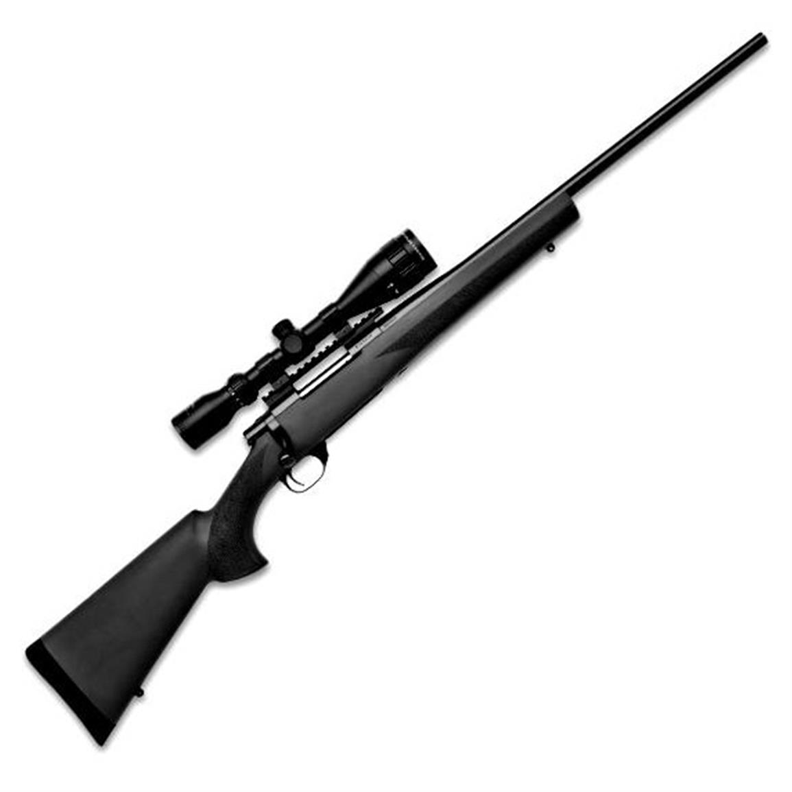 "LSI Howa Hogue Gameking Package, Bolt Action, .204 Ruger, 22"" Barrel, 3.5-10x44 Scope, 5+1 Rounds"