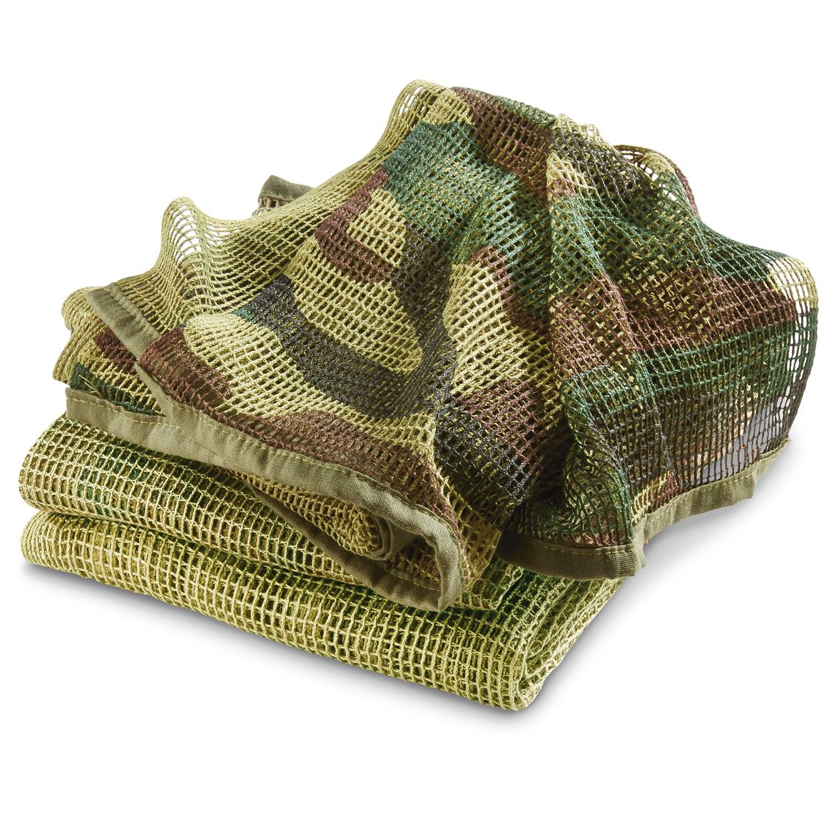 3 Red Rock Outdoor Gear™ Sniper Veils, Woodland