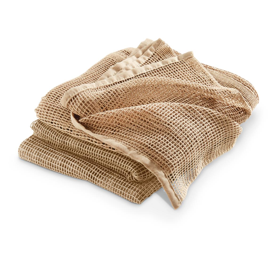 3 Red Rock Outdoor Gear™ Sniper Veils, Coyote Tan