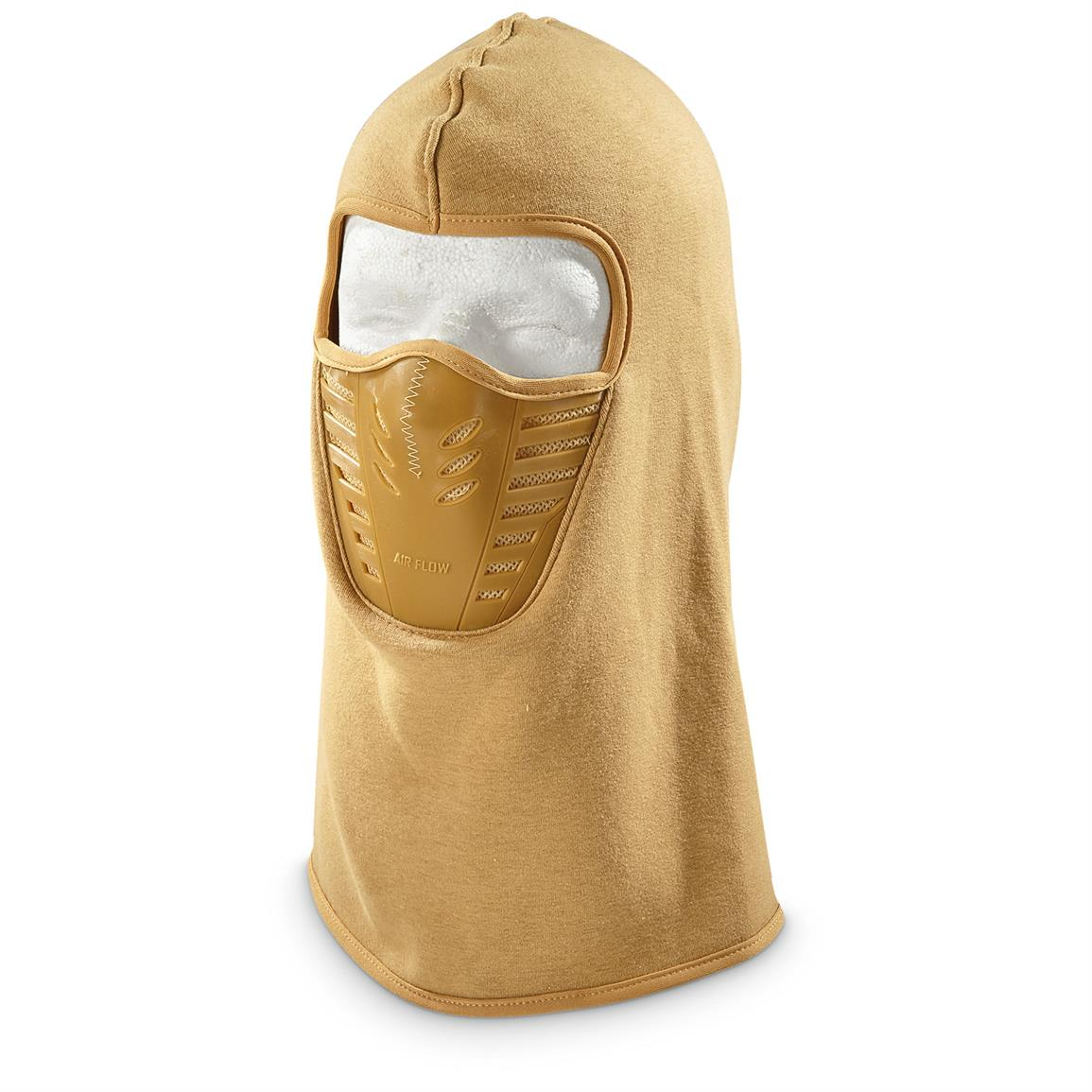 Red Rock Outdoor Gear Tactical Fleece Balaclava, 2 Pack, Coyote Tan