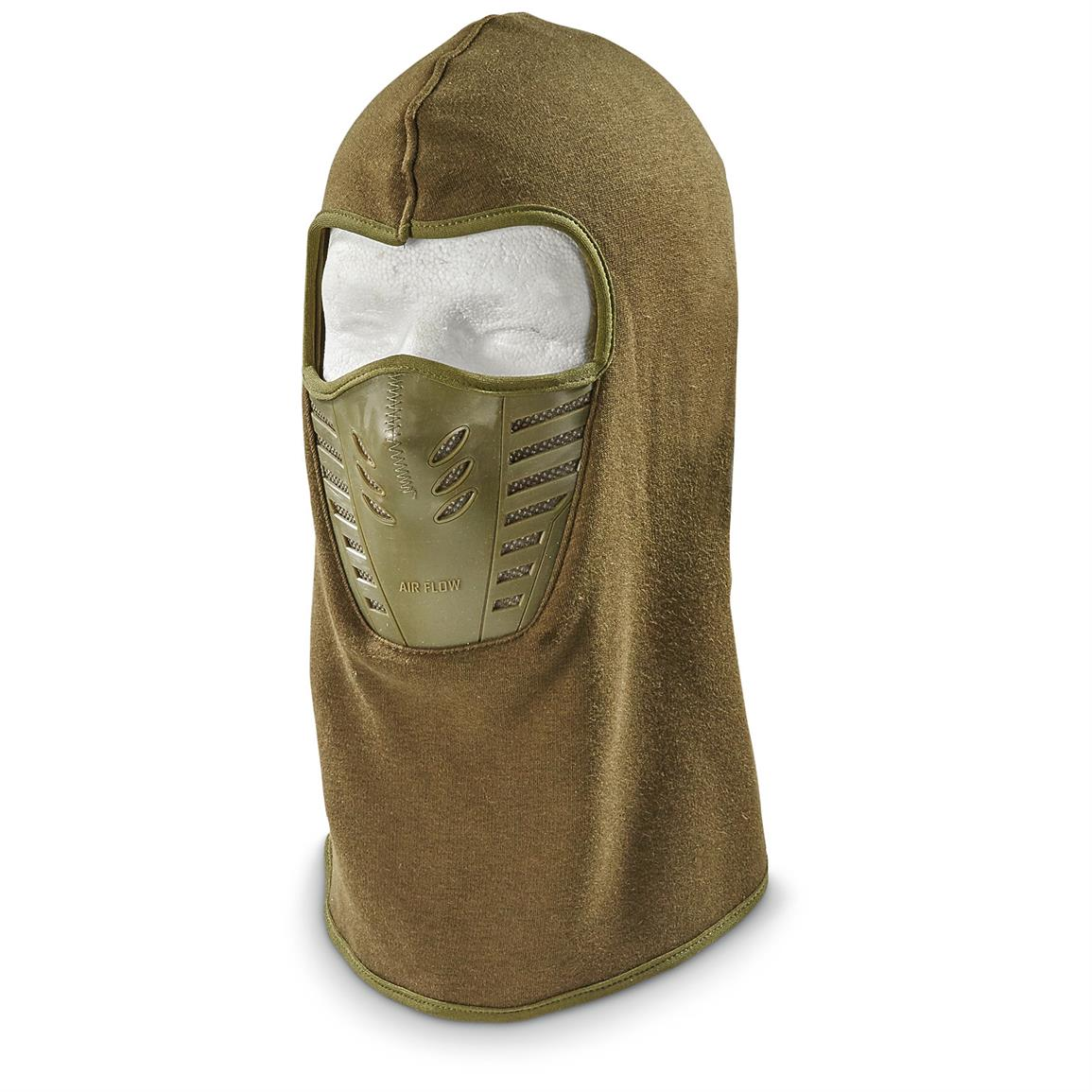 Red Rock Outdoor Gear Tactical Fleece Balaclava, 2 Pack, Olive Drab