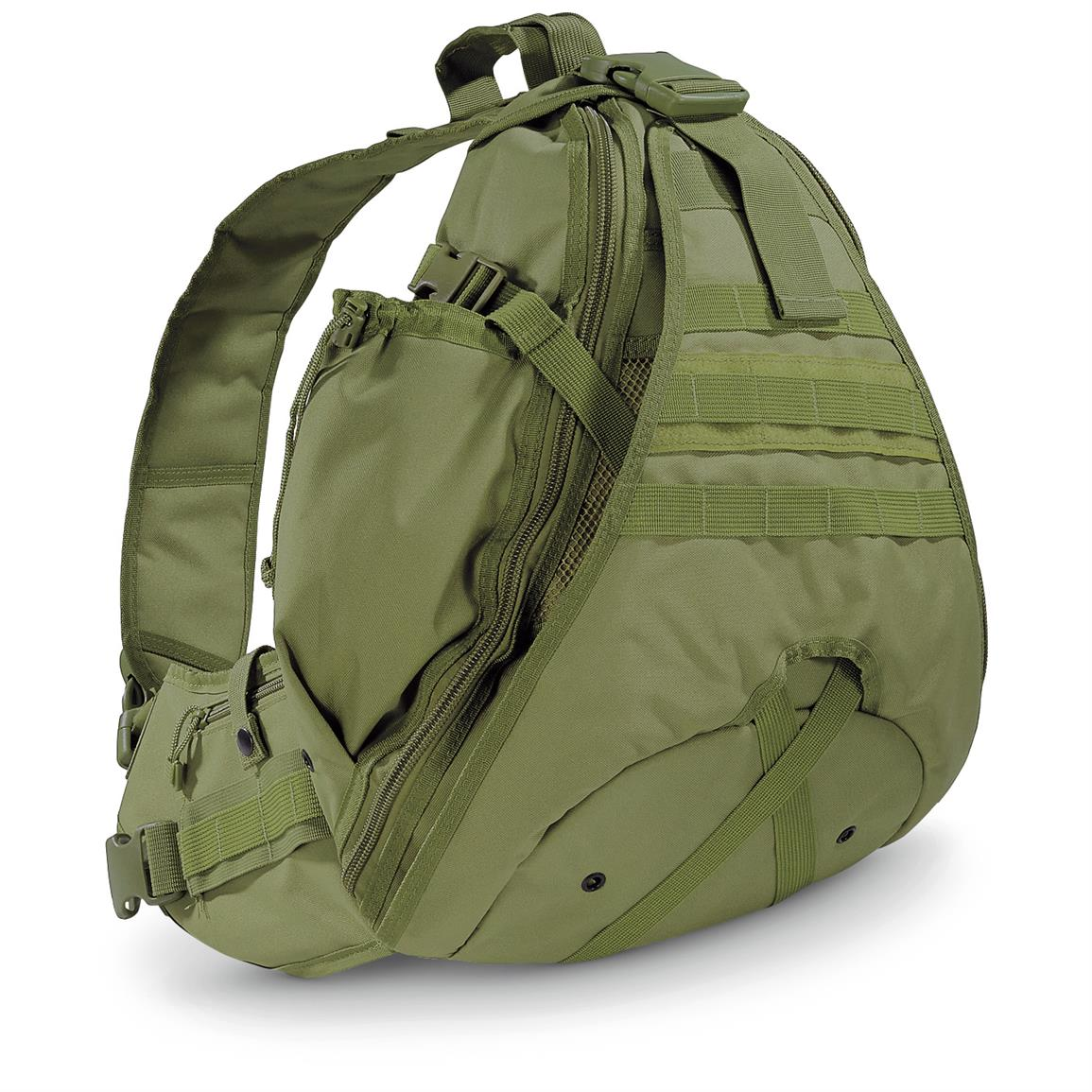 Cactus Jack Enhanced Sling Bag, Olive Drab