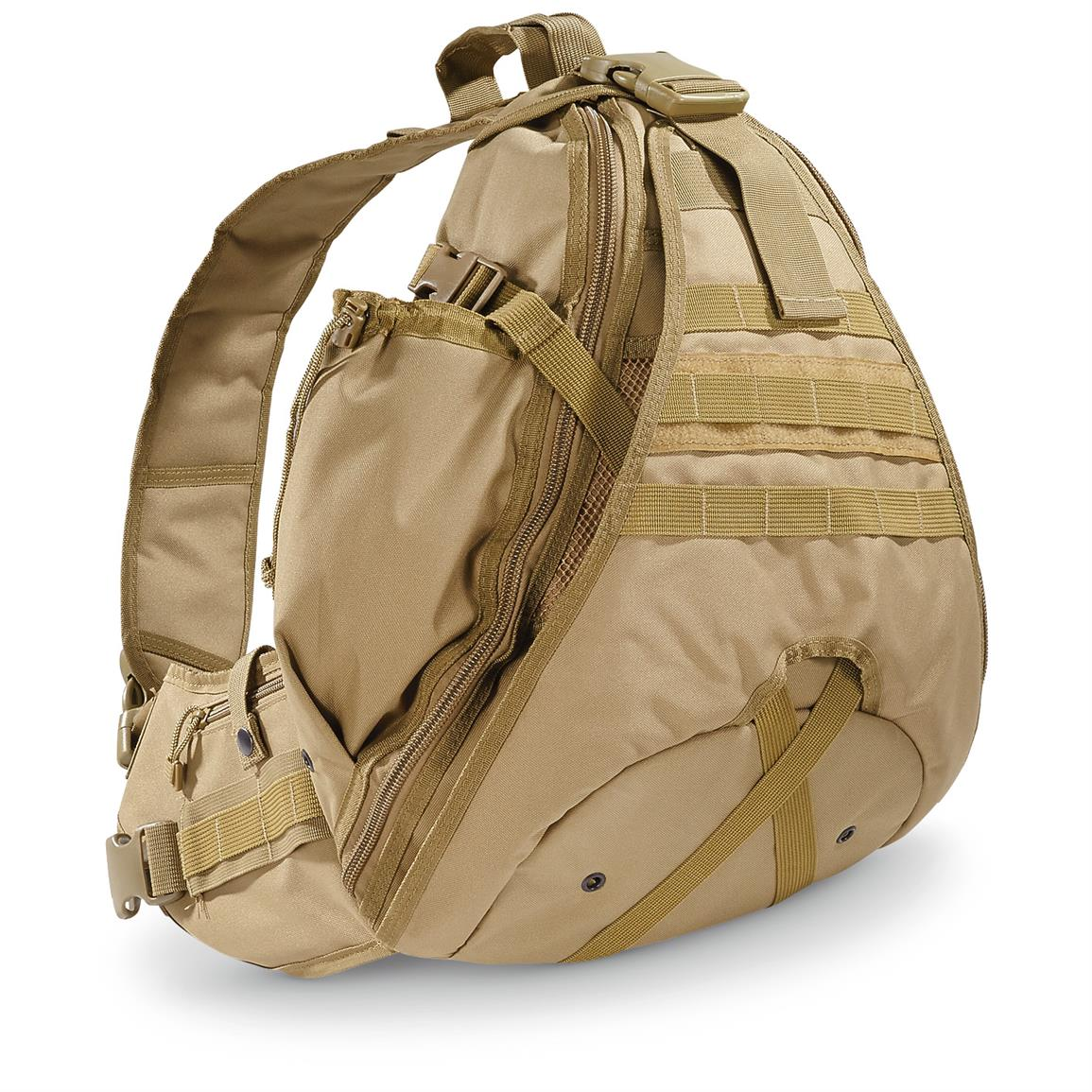 Cactus Jack Enhanced Sling Bag, Coyote Tan