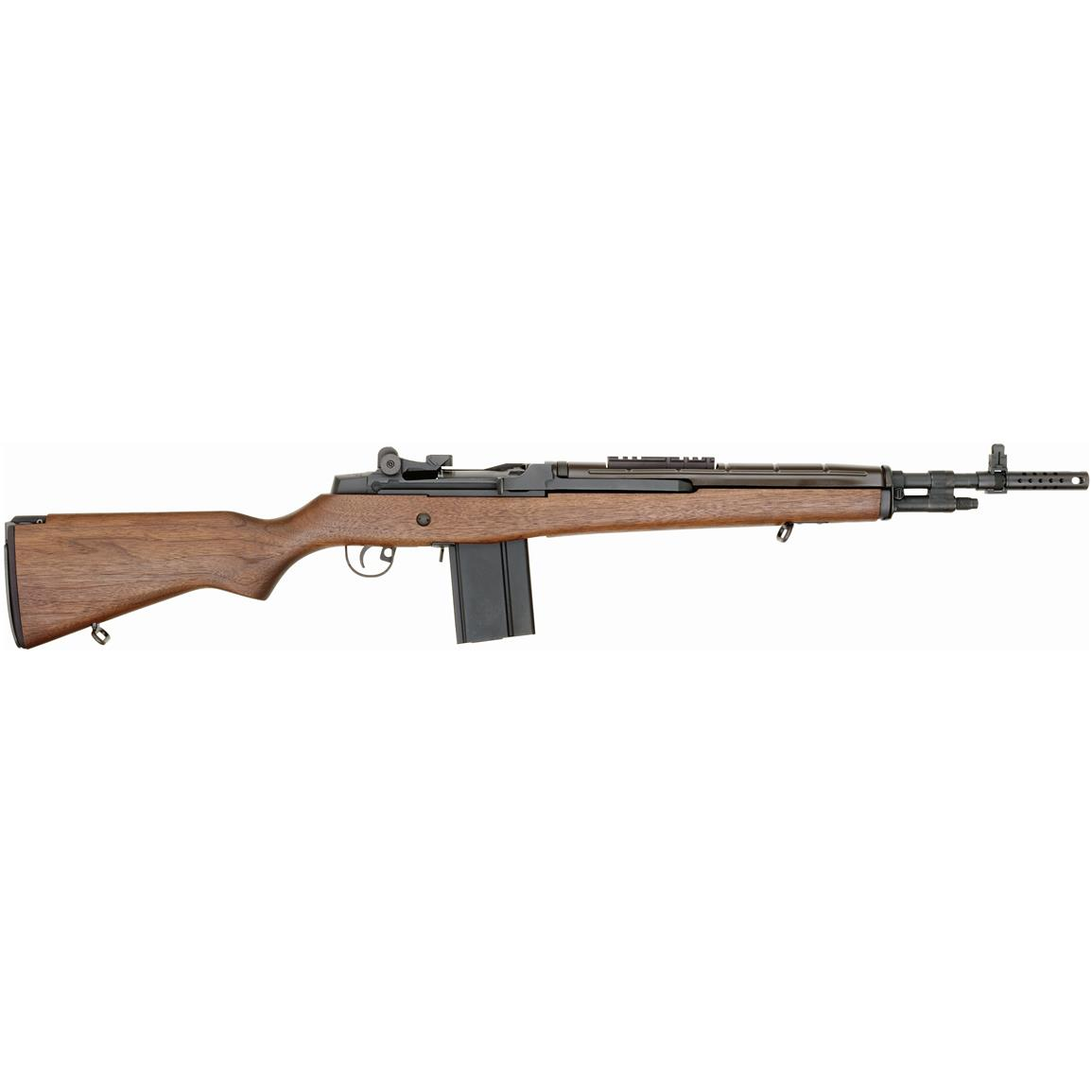 Springfield M1A Scout Squad, Semi-automatic, .308 Winchester, Centerfire, AA9122, 706397004122