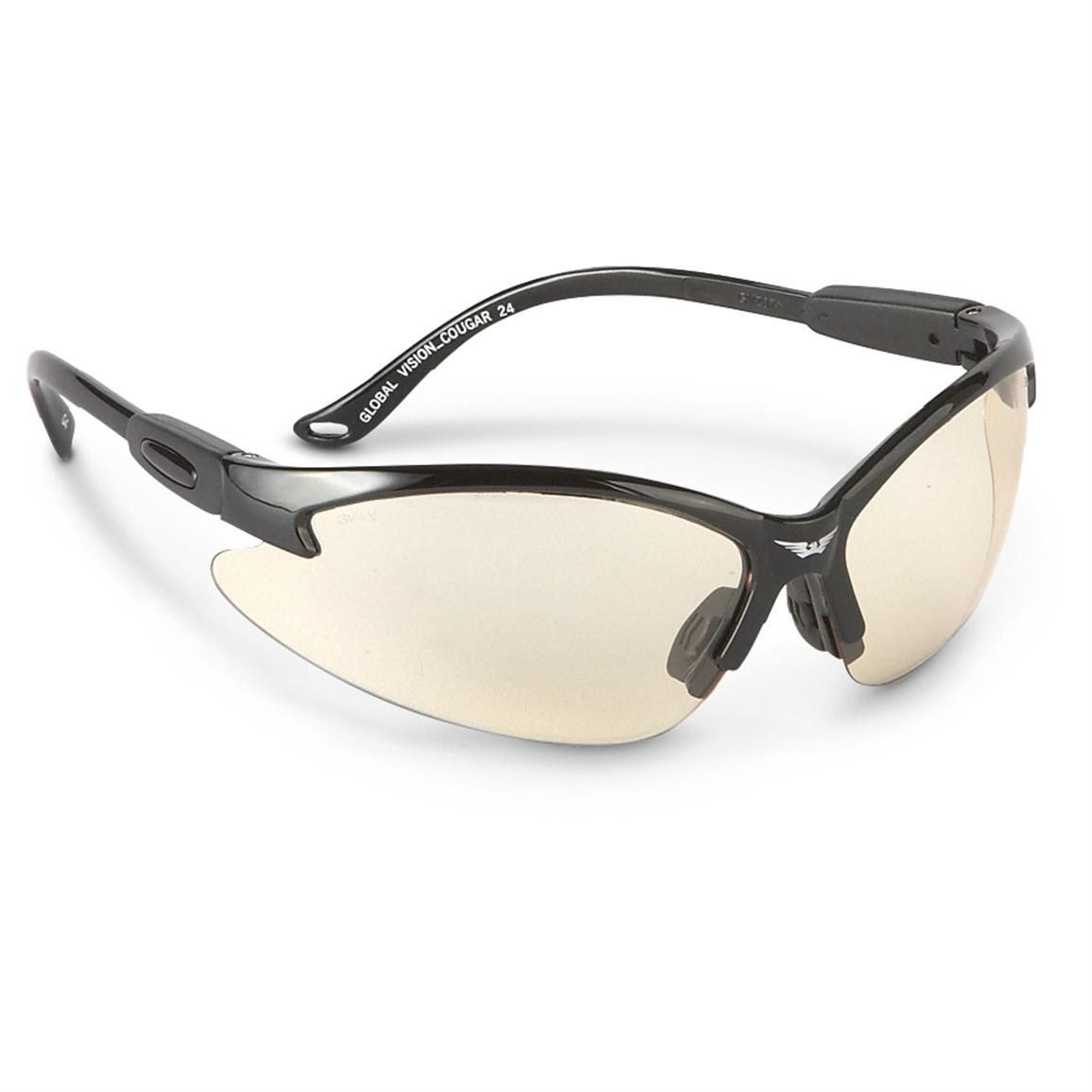 Global Vision Cougar 24 Photochromic Safety Sunglasses