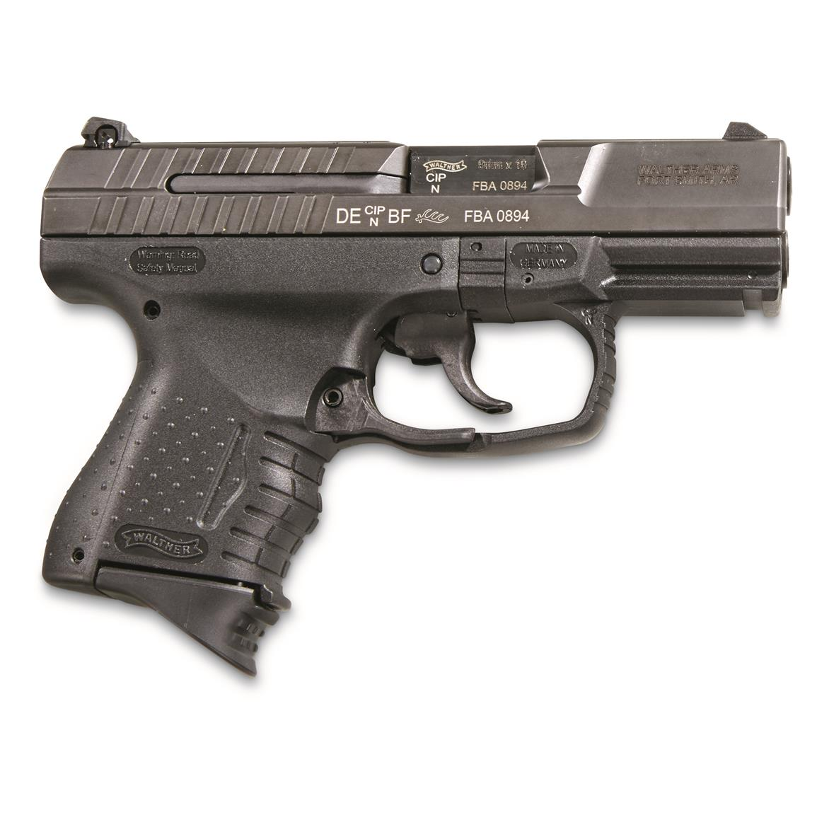 "Walther P99C, Semi-Automatic, 9mm, 3.5"" Barrel, 10 Rounds"