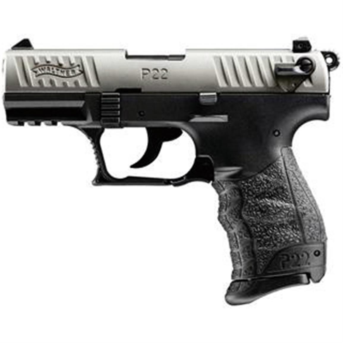 Walther P22 CA Compliant, Semi-automatic, .22LR, 10 Round Capacity