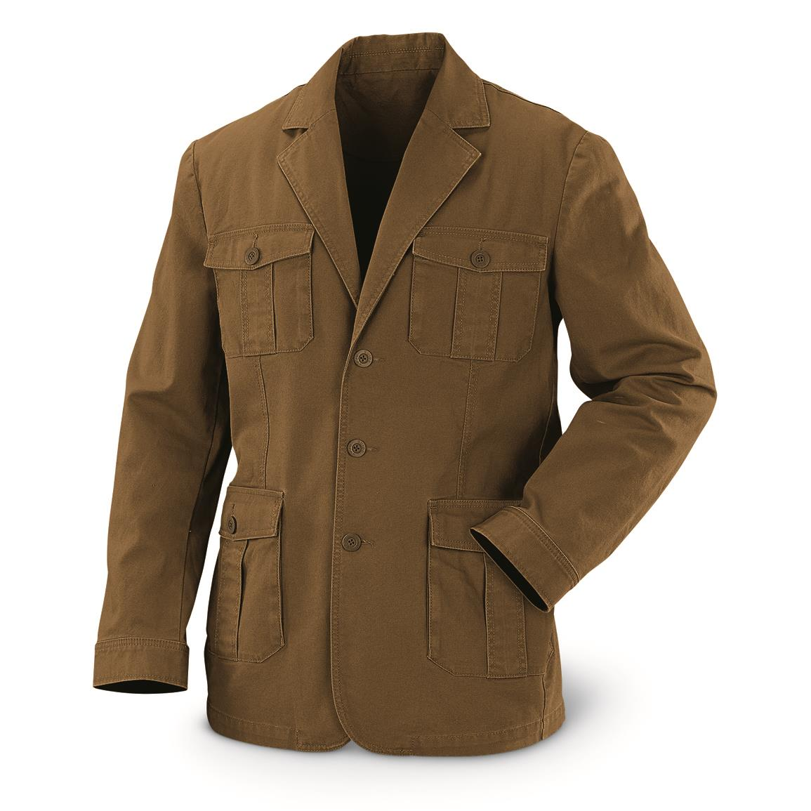 Guide Gear Men's Sportsman's Field Jacket, British Khaki