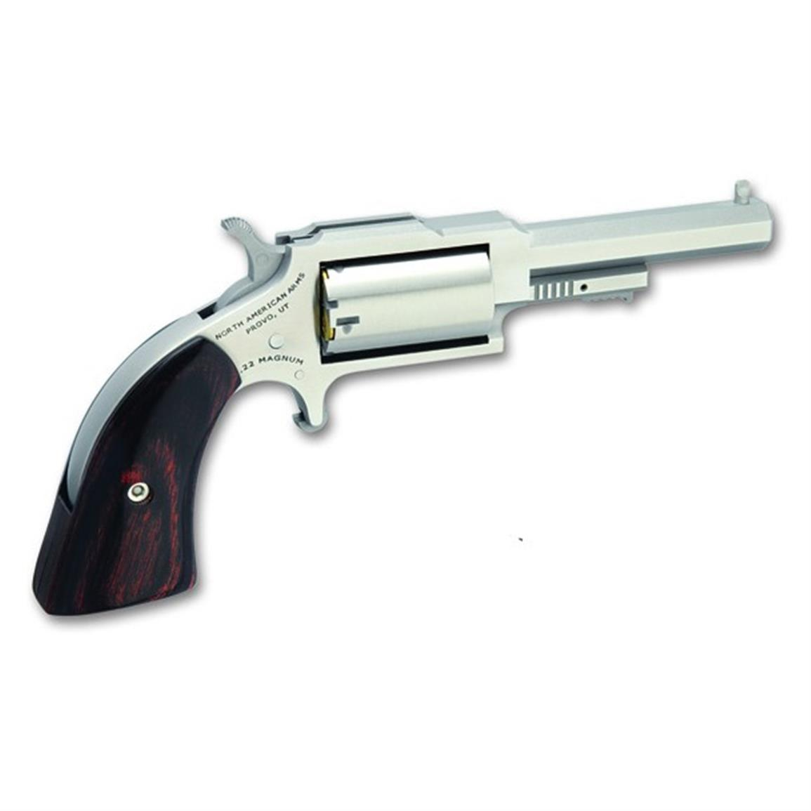 NAA 1860 Sheriff with .22LR Conversion Cylinder, Revolver, .22 Magnum, Rimfire, 1860250C, 744253002397, 2.5 inch barrel