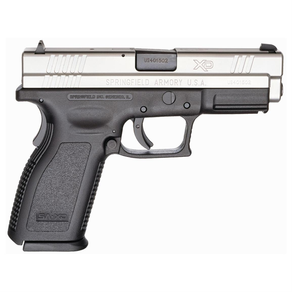 Springfield XD 4 inch Service, Semi-automatic, 9mm, XD9301HCSP06, 706397865849