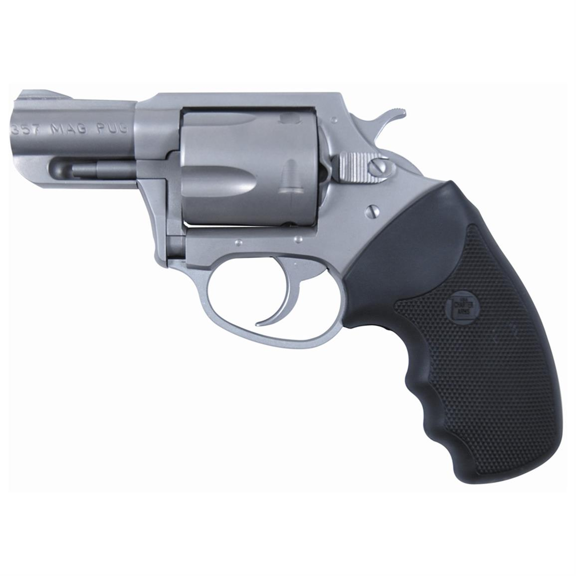 Charter Arms Mag Pug, Revolver, .357 Magnum, 73521, 678958735215, Hammerless / DAO