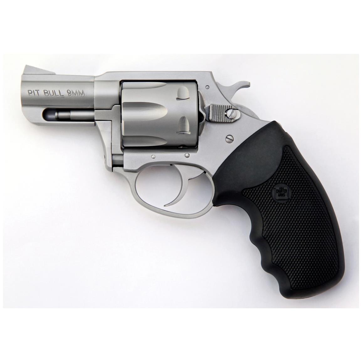 "Charter Arms Pitbull, Revolver, 9mm, 2.2"" Barrel, 5 Rounds"