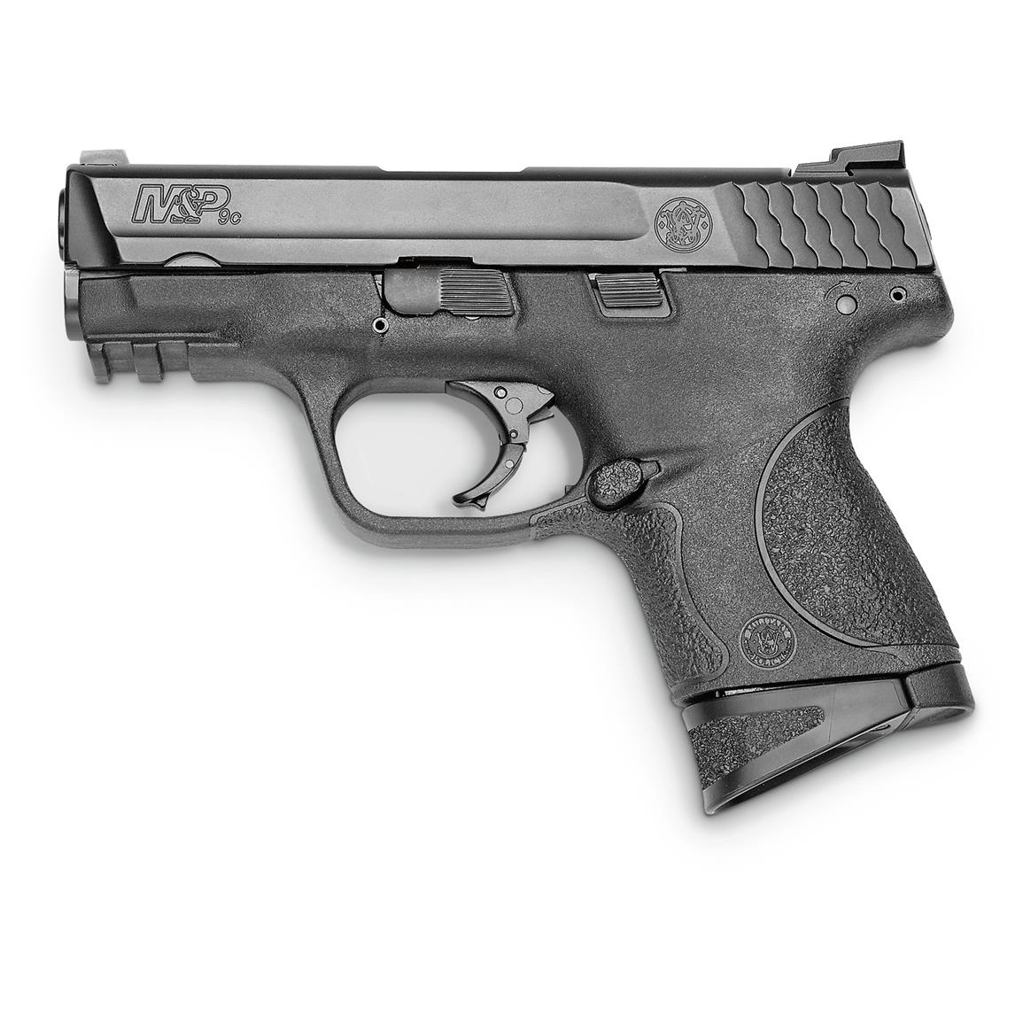 Smith & Wesson M&P9C, Semi-Automatic, 9mm, 3.57#34; Barrel, 12+1 Rounds