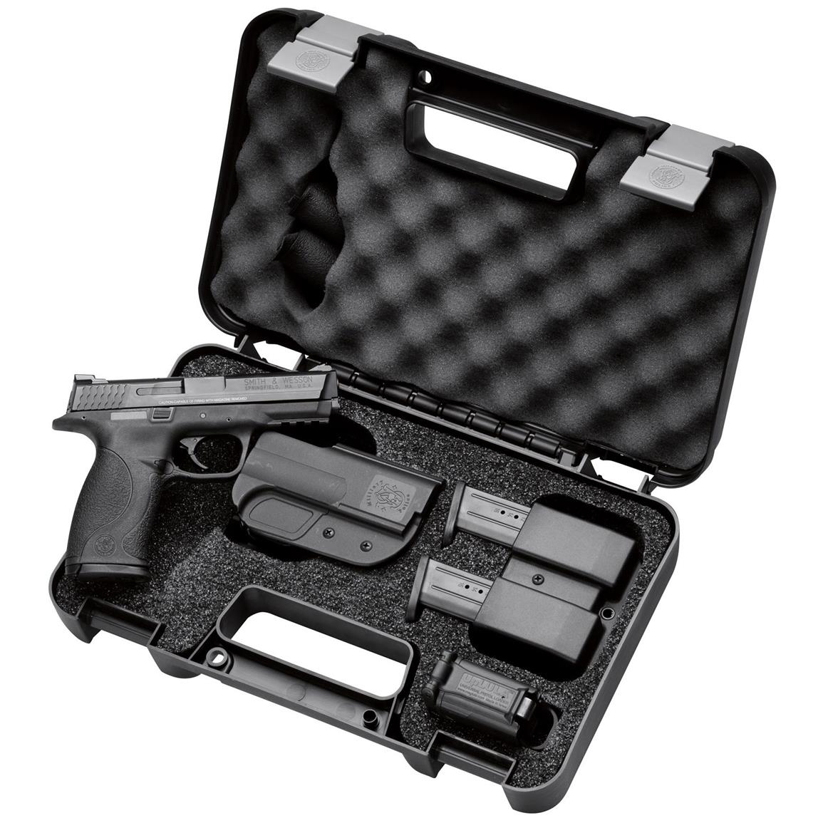 "Smith &anp; Wesson, M&P40 Carry / Range Kit, Semi-Automatic, .40 S&W, 4.25"" Barrel, 15+1 Rounds"