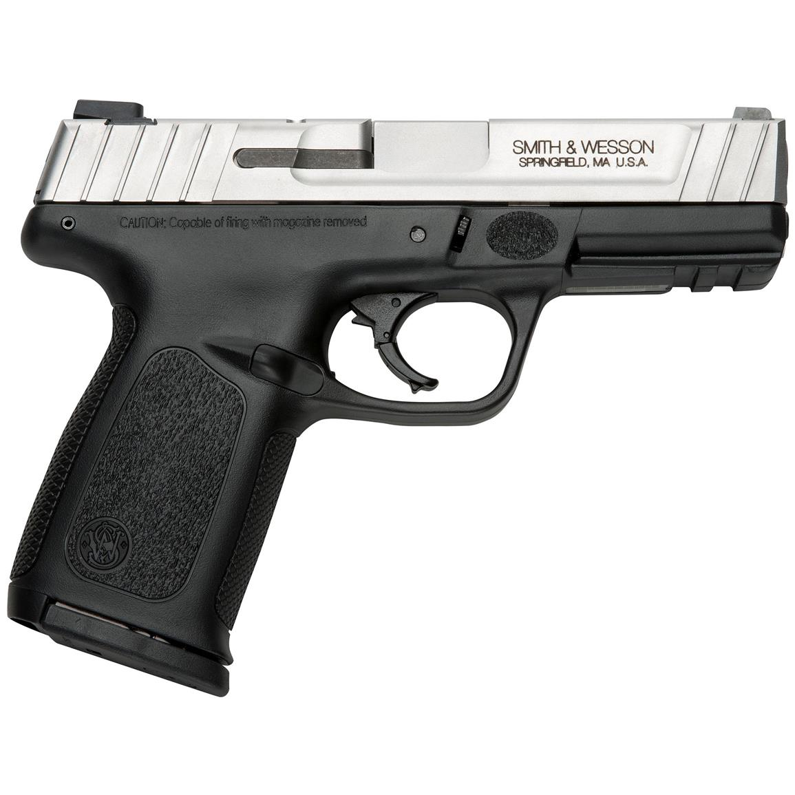 "Smith & Wesson SD9 VE, Semi-Automatic, 9mm, 4"" Barrel, 16+1 Rounds"